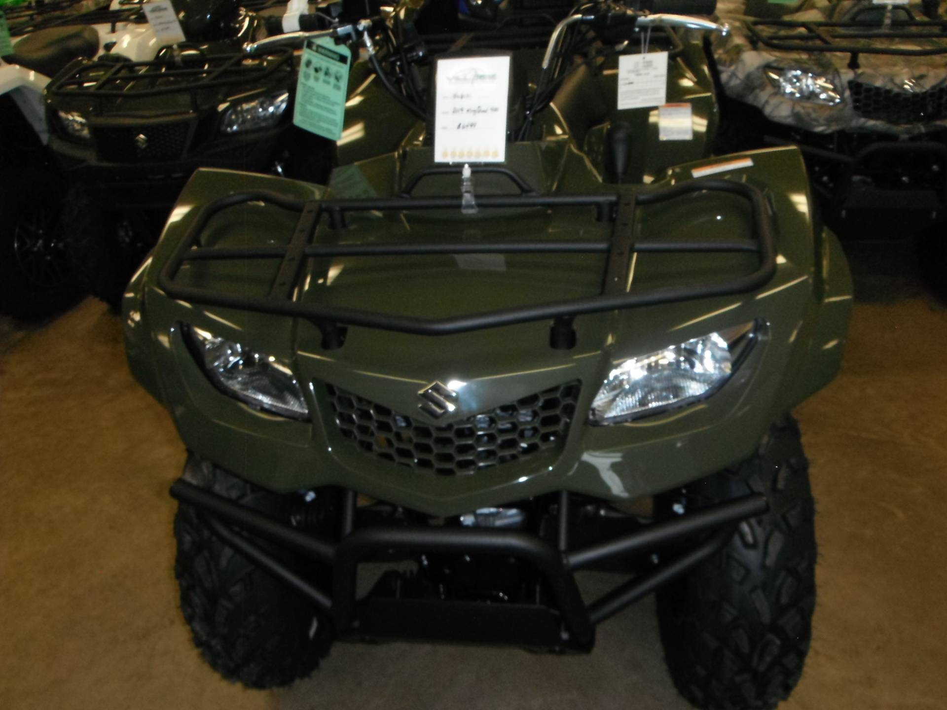 2020 Suzuki KingQuad 400ASi in Unionville, Virginia - Photo 3