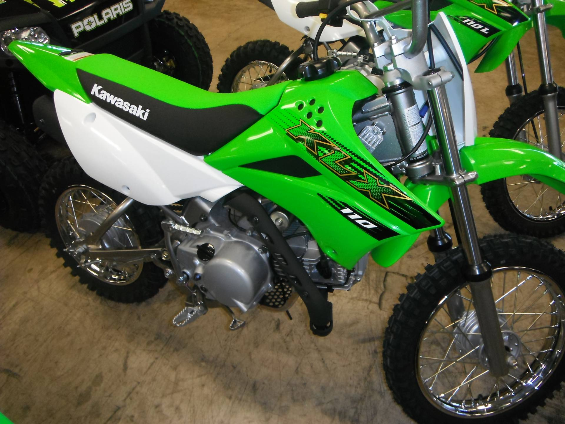 2020 Kawasaki KLX 110 in Unionville, Virginia on