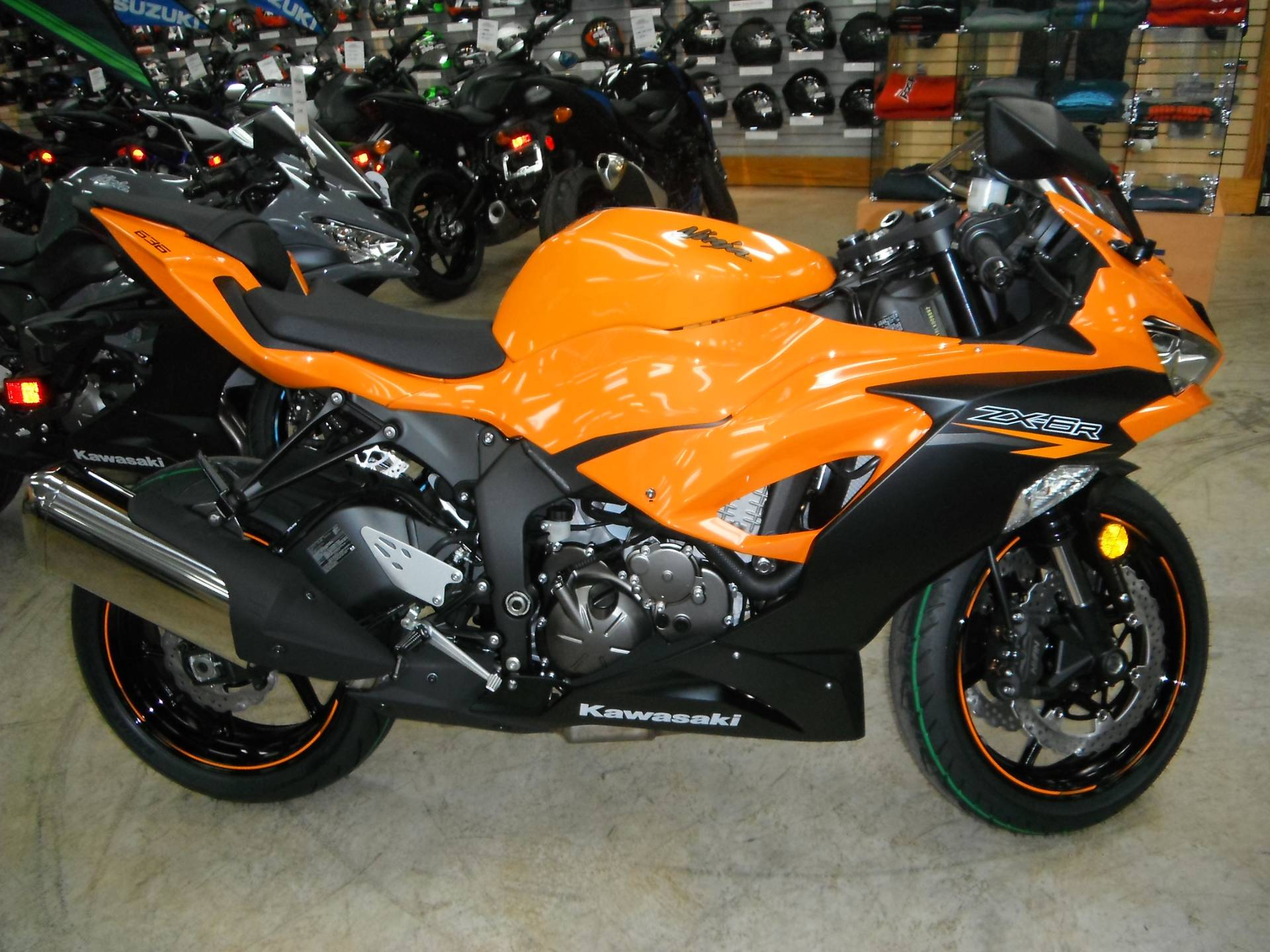 2020 Kawasaki Ninja ZX-6R ABS in Unionville, Virginia - Photo 1