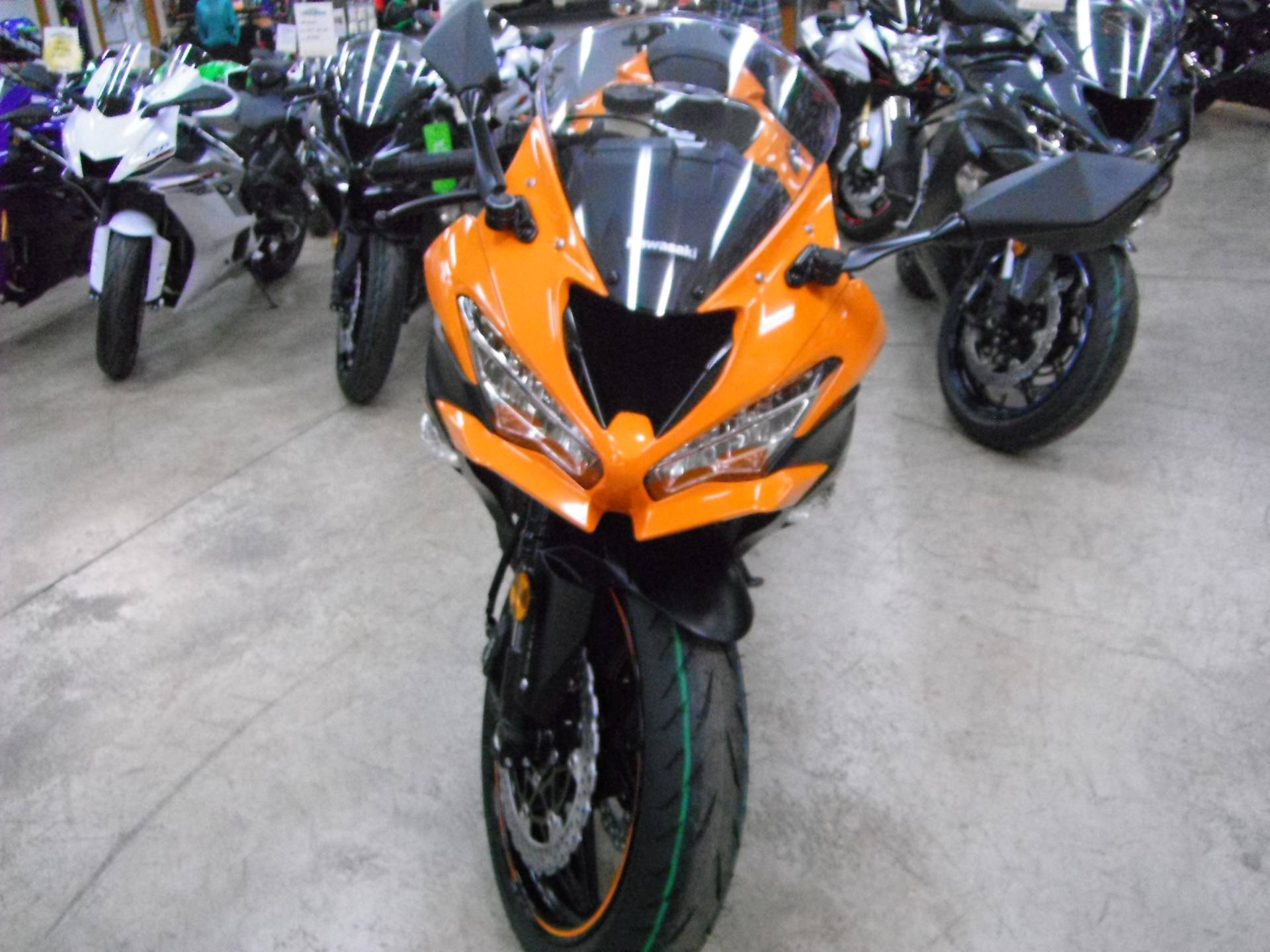 2020 Kawasaki Ninja ZX-6R ABS in Unionville, Virginia - Photo 3