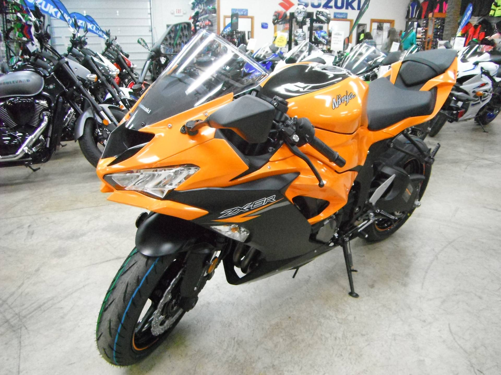 2020 Kawasaki Ninja ZX-6R ABS in Unionville, Virginia - Photo 4
