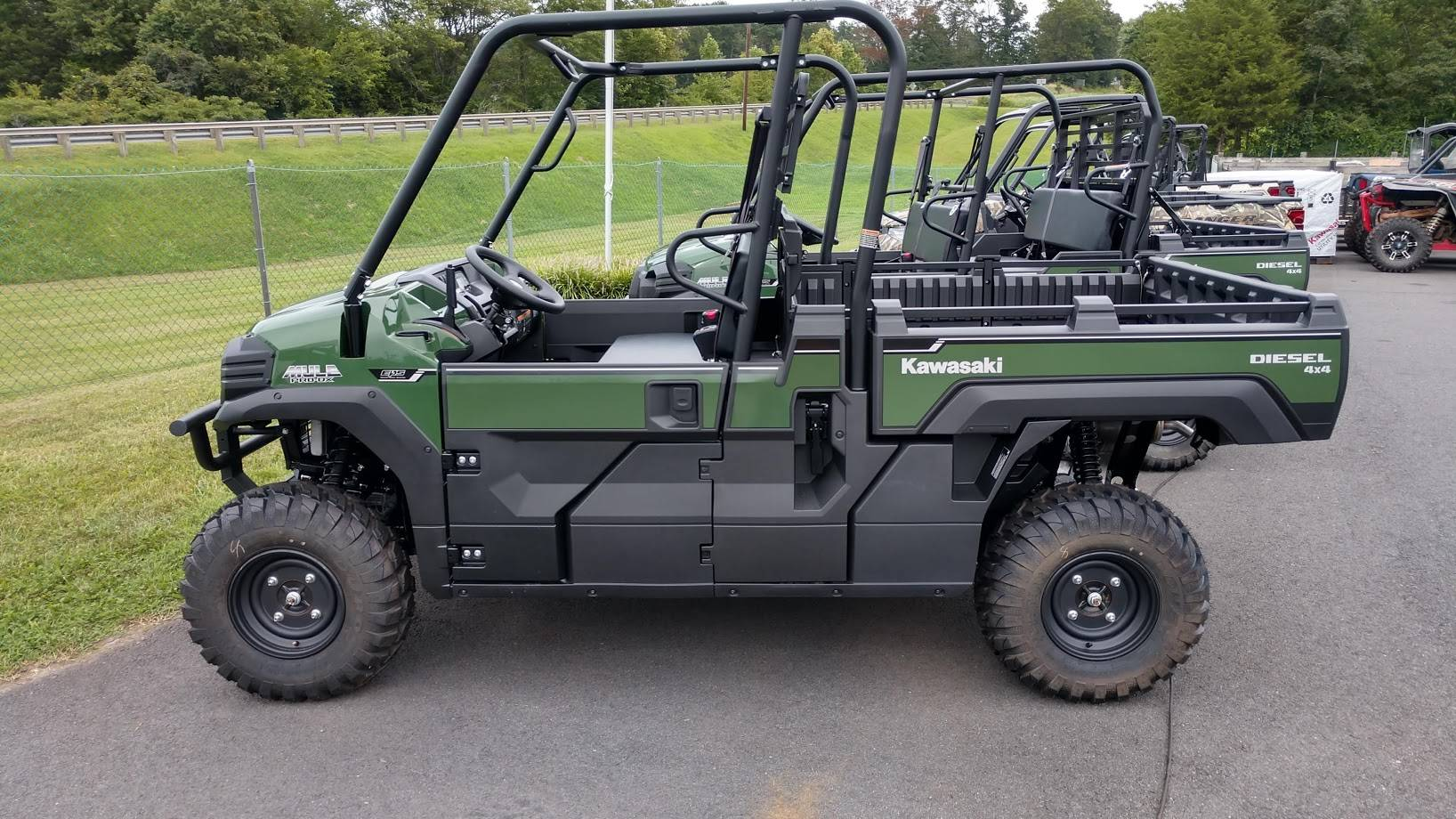 2021 Kawasaki Mule PRO-DX EPS Diesel in Unionville, Virginia - Photo 1