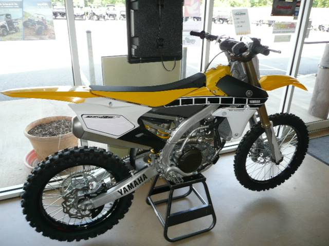 2016 Yamaha YZ450F in Unionville, Virginia