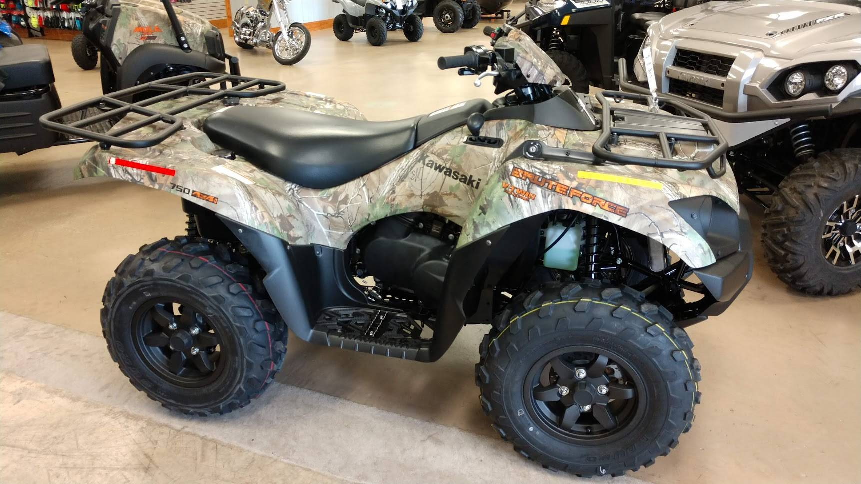 2021 Kawasaki Brute Force 750 4x4i EPS Camo in Unionville, Virginia - Photo 1