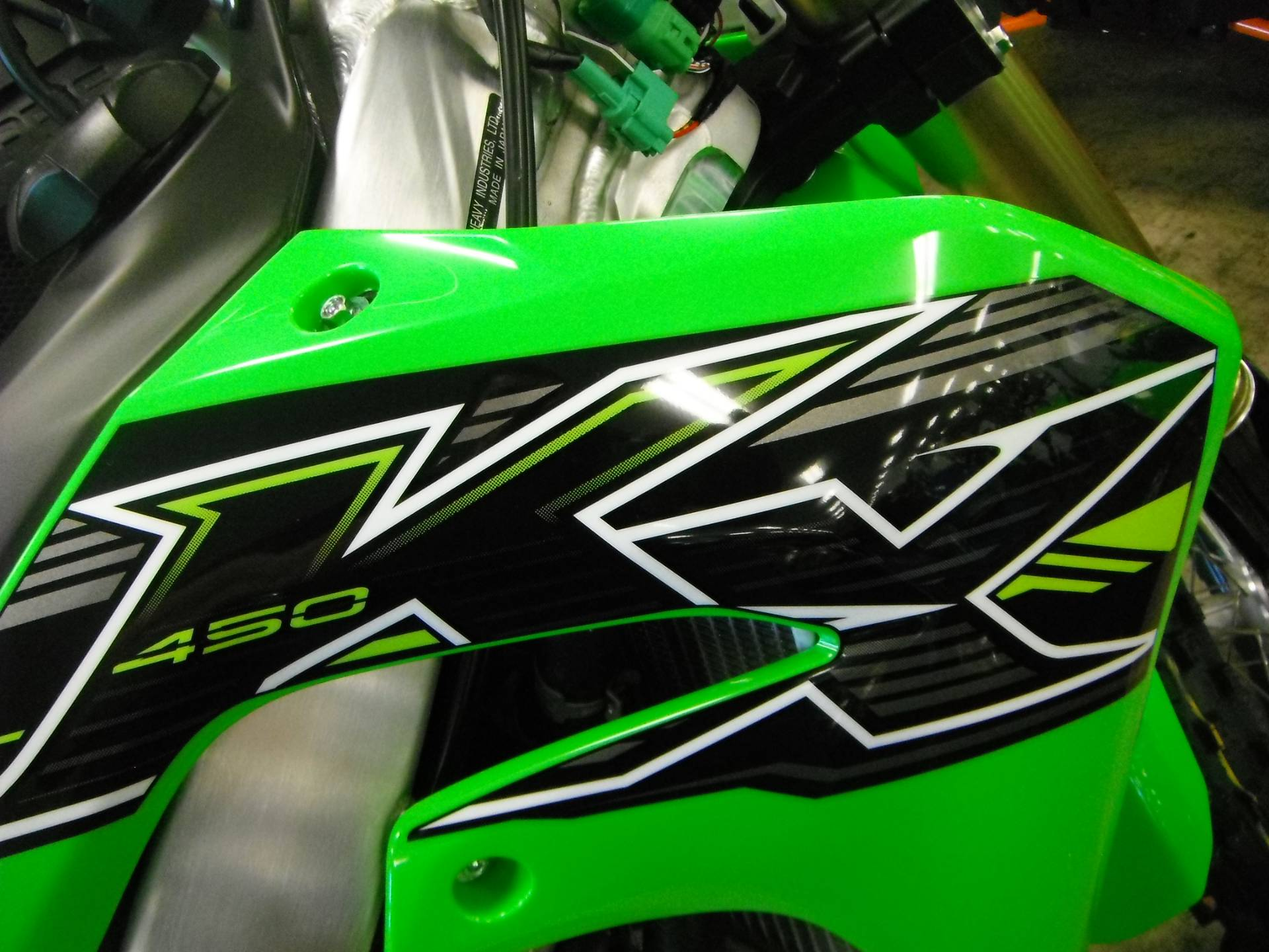 2019 Kawasaki KX 450 in Unionville, Virginia
