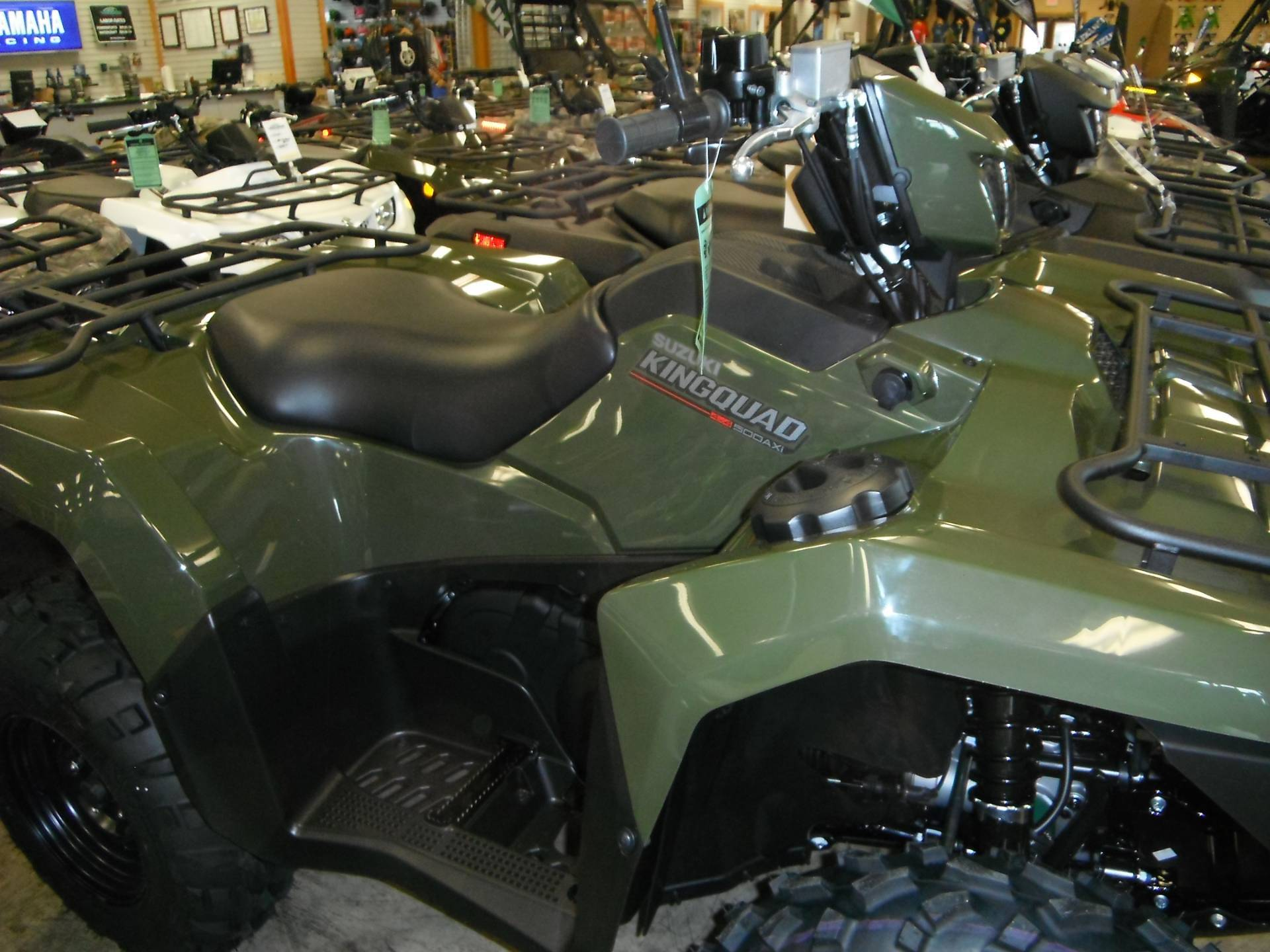 2020 Suzuki KingQuad 500AXi in Unionville, Virginia - Photo 1