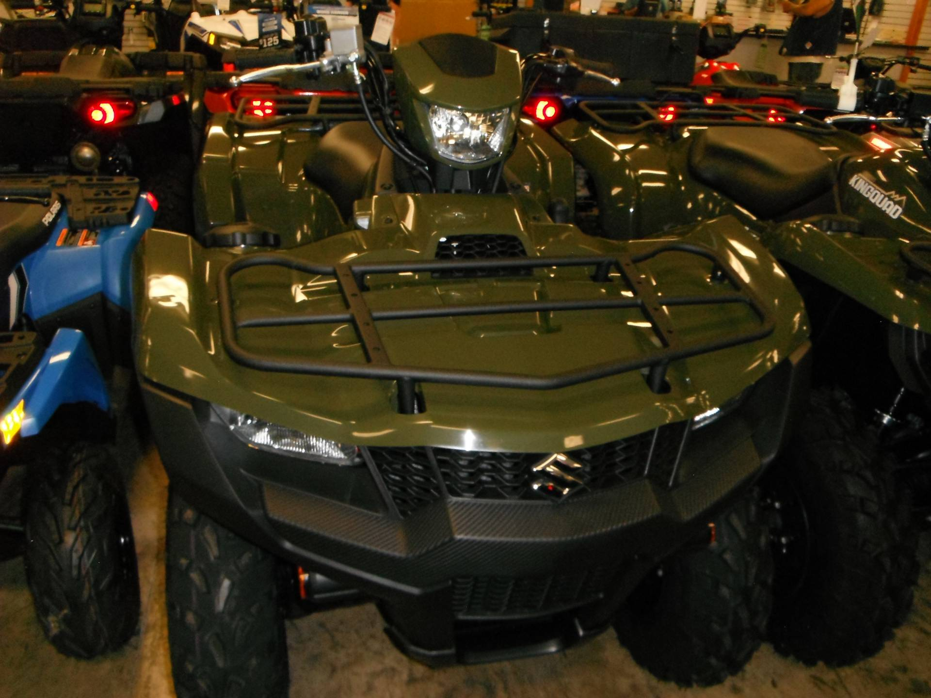 2019 Suzuki KingQuad 500AXi in Unionville, Virginia