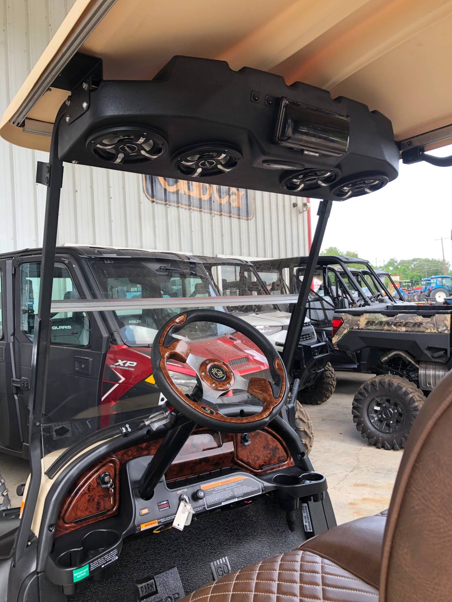 2019 Club Car Onward Lifted 4 Passenger Electric in Brazoria, Texas - Photo 3