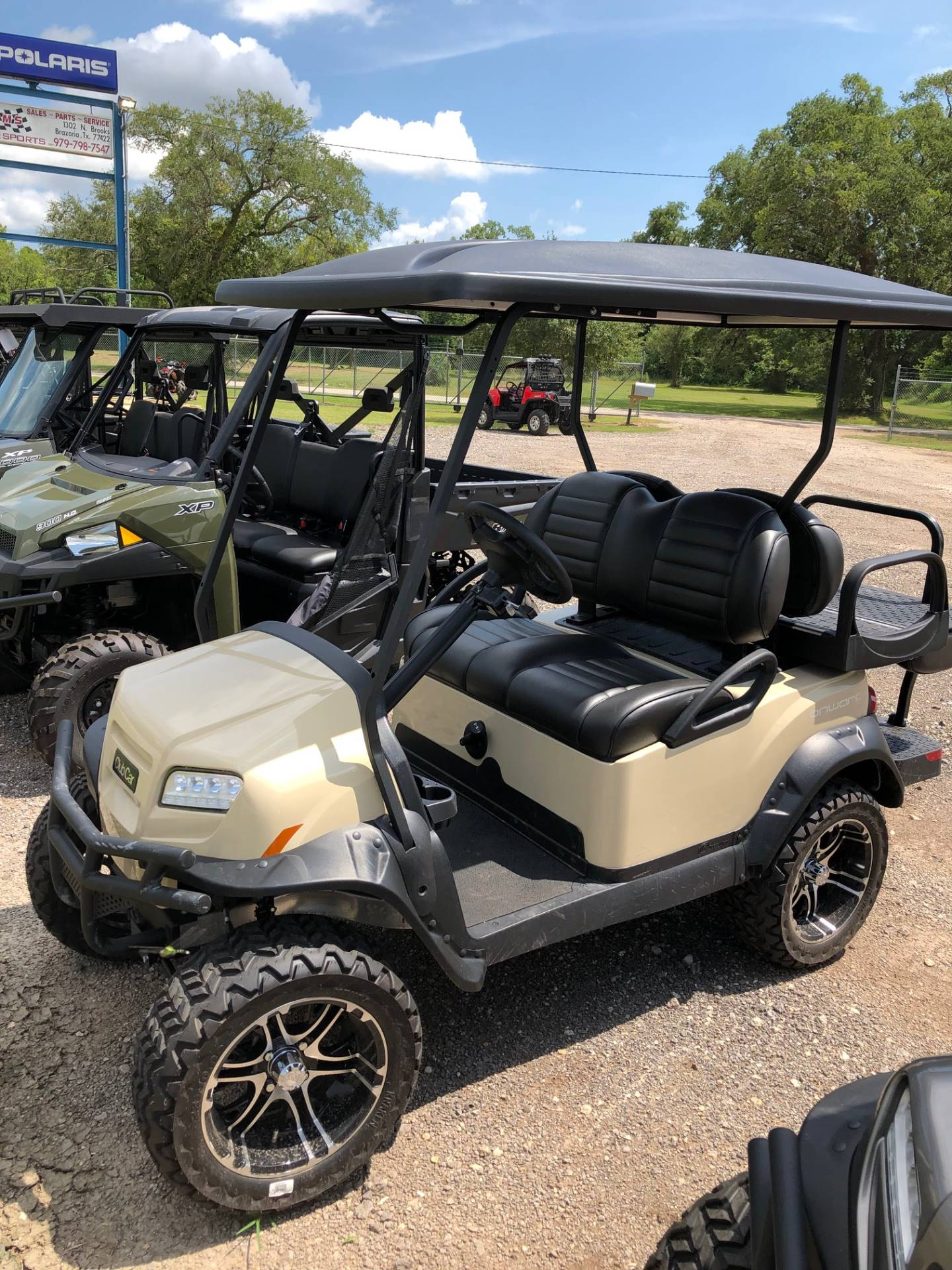2019 Club Car Onward Lifted 4 Passenger Gasoline in Brazoria, Texas - Photo 1