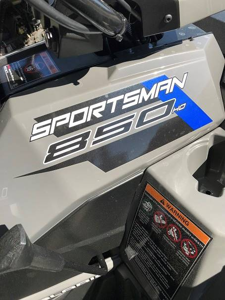 2019 Polaris Sportsman 850 in Brazoria, Texas - Photo 3