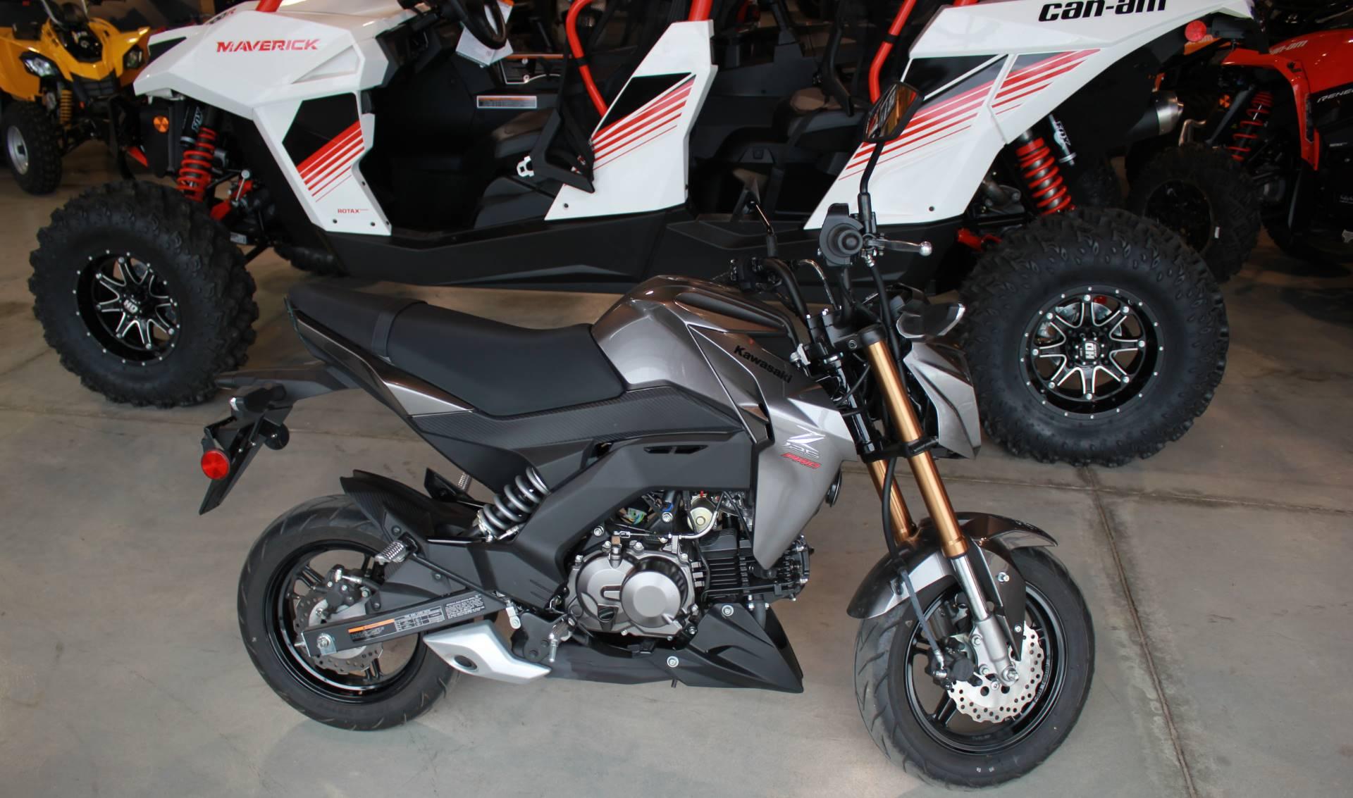 2017 Kawasaki Z125 Pro >> Used 2017 Kawasaki Z125 Pro Motorcycles In Batavia Oh Stock