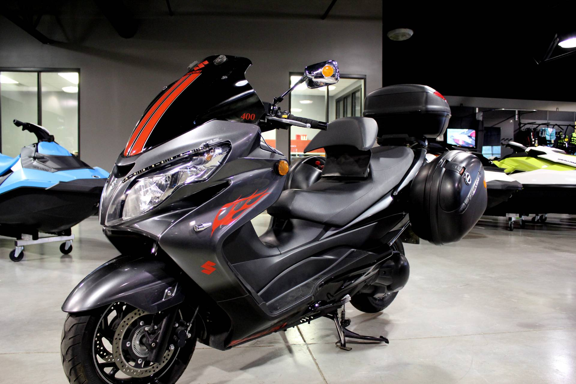Used 2012 Suzuki Burgman™ 400 ABS Scooters in Batavia, OH | Stock ...
