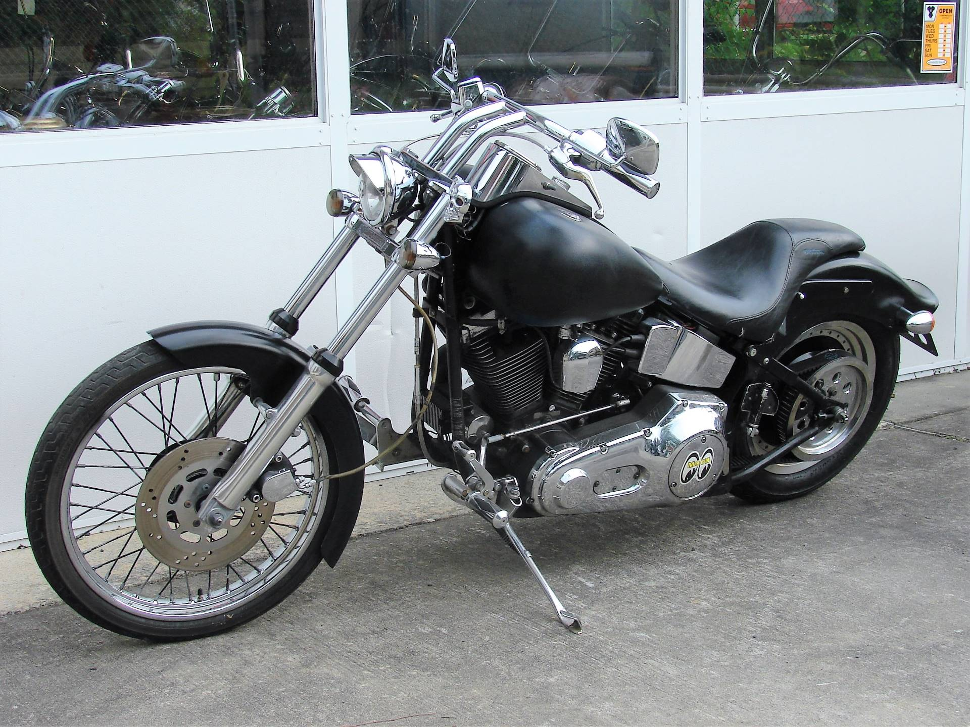 1998 Harley-Davidson FXSTC Softail Custom  (Black) in Williamstown, New Jersey - Photo 6