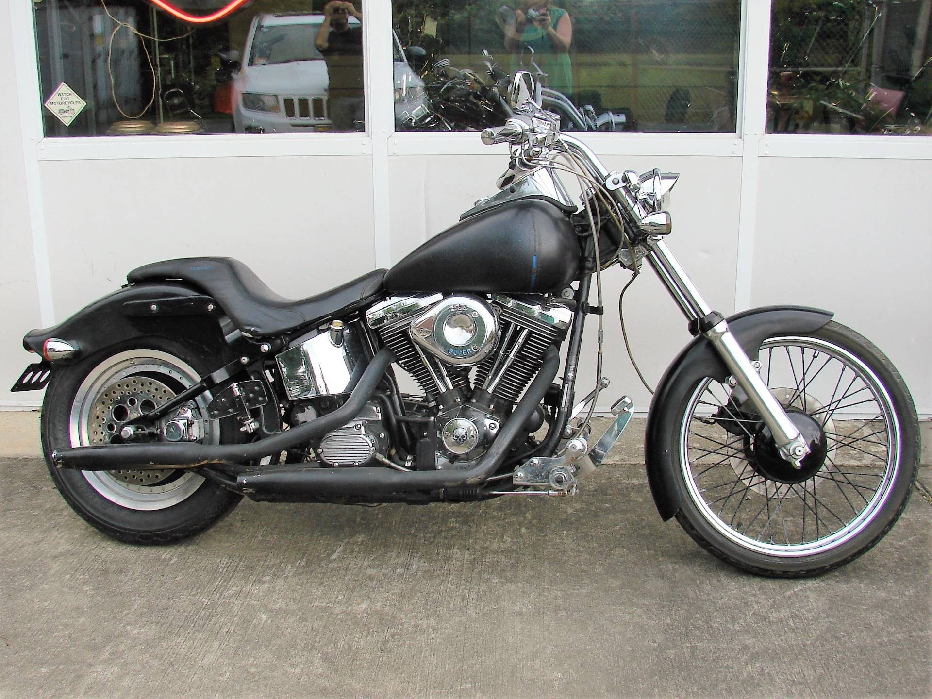 1998 Harley-Davidson FXSTC Softail Custom  (Black) in Williamstown, New Jersey - Photo 9