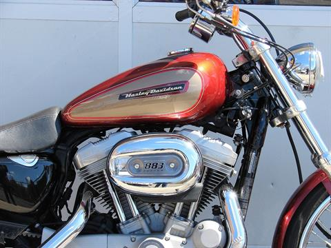 2009 Harley-Davidson XL 883 Sportster Custom in Williamstown, New Jersey - Photo 4