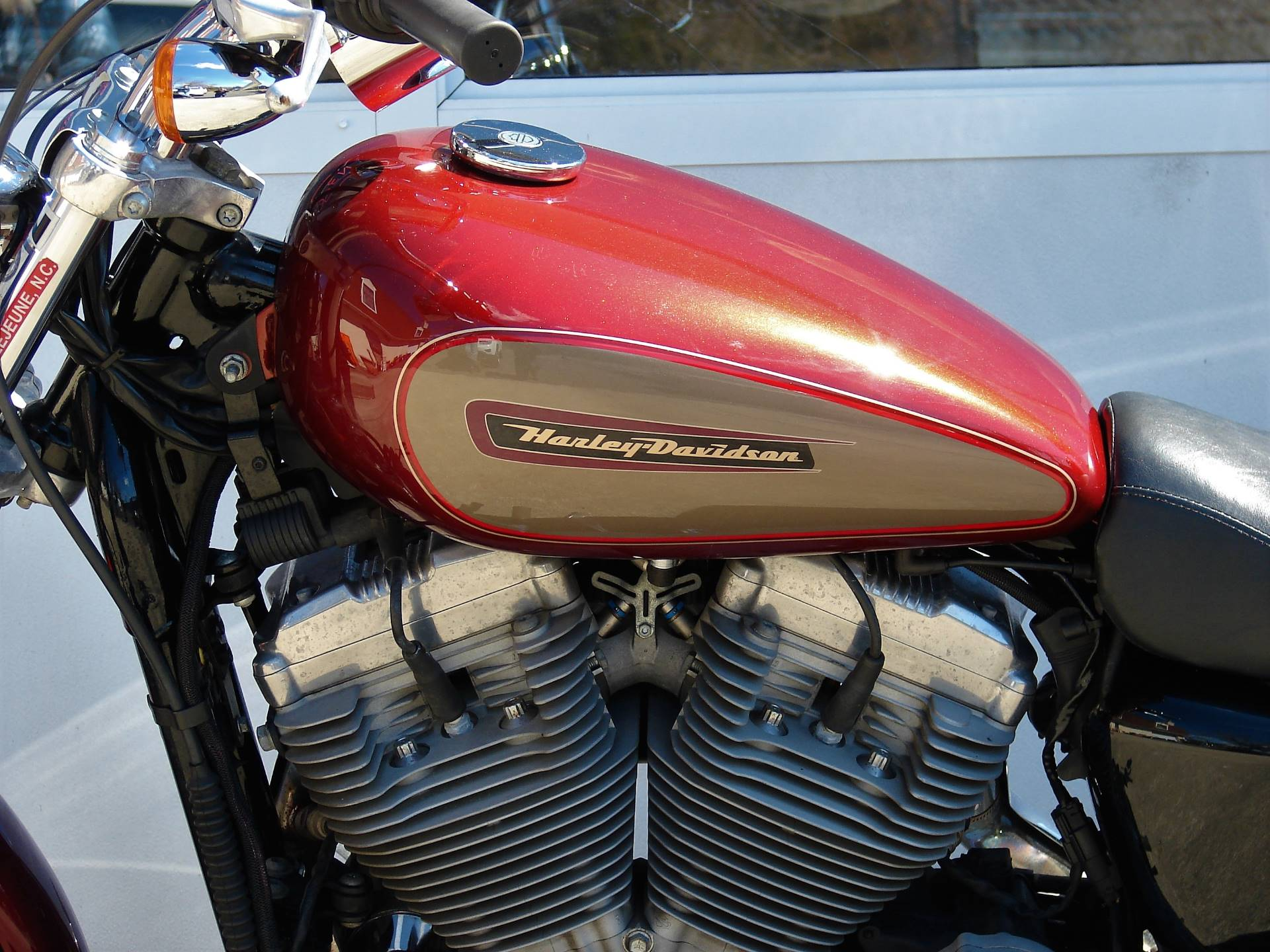 2009 Harley-Davidson XL 883 Sportster Custom in Williamstown, New Jersey - Photo 9