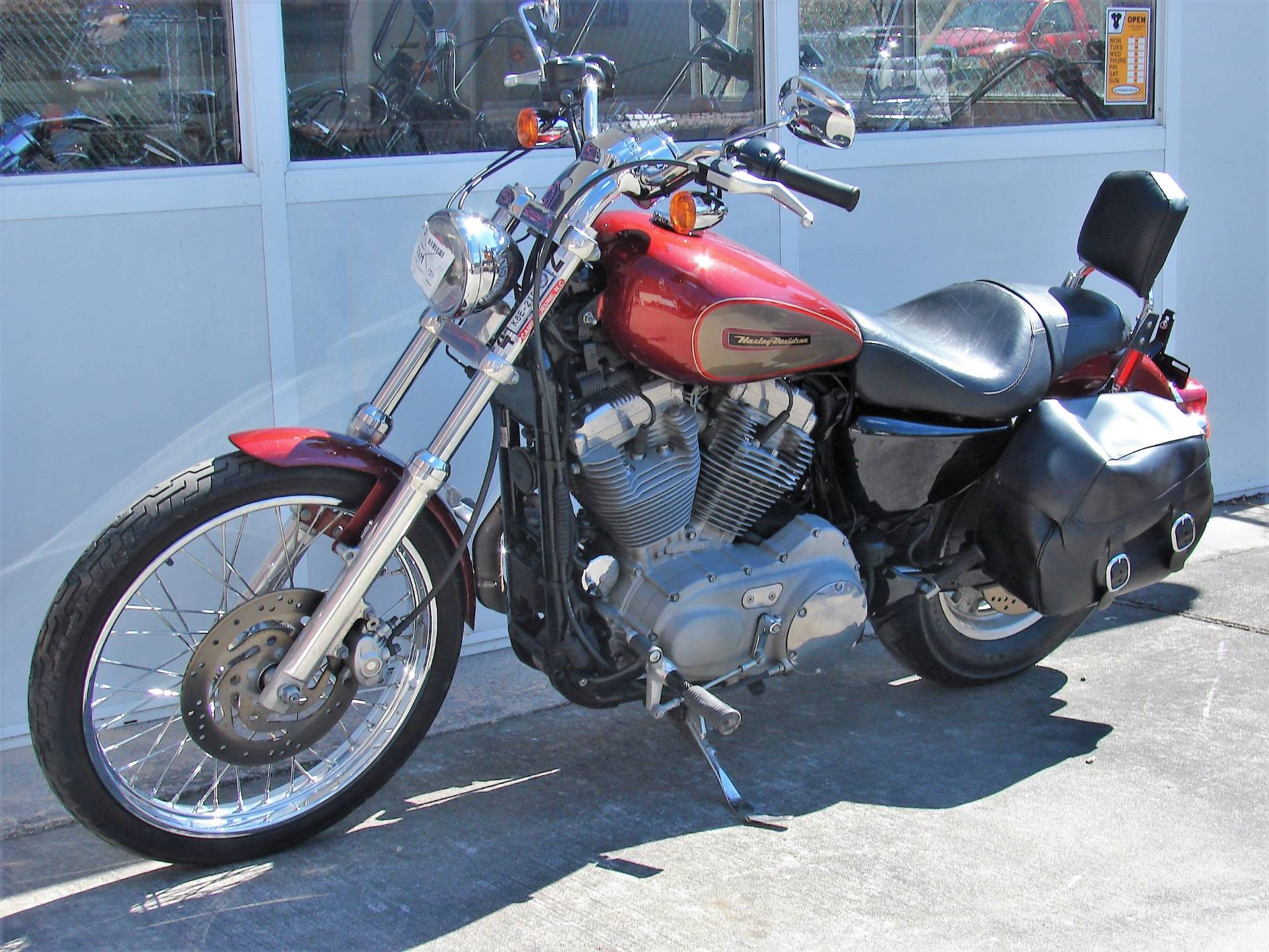 2009 Harley-Davidson XL 883 Sportster Custom in Williamstown, New Jersey - Photo 10