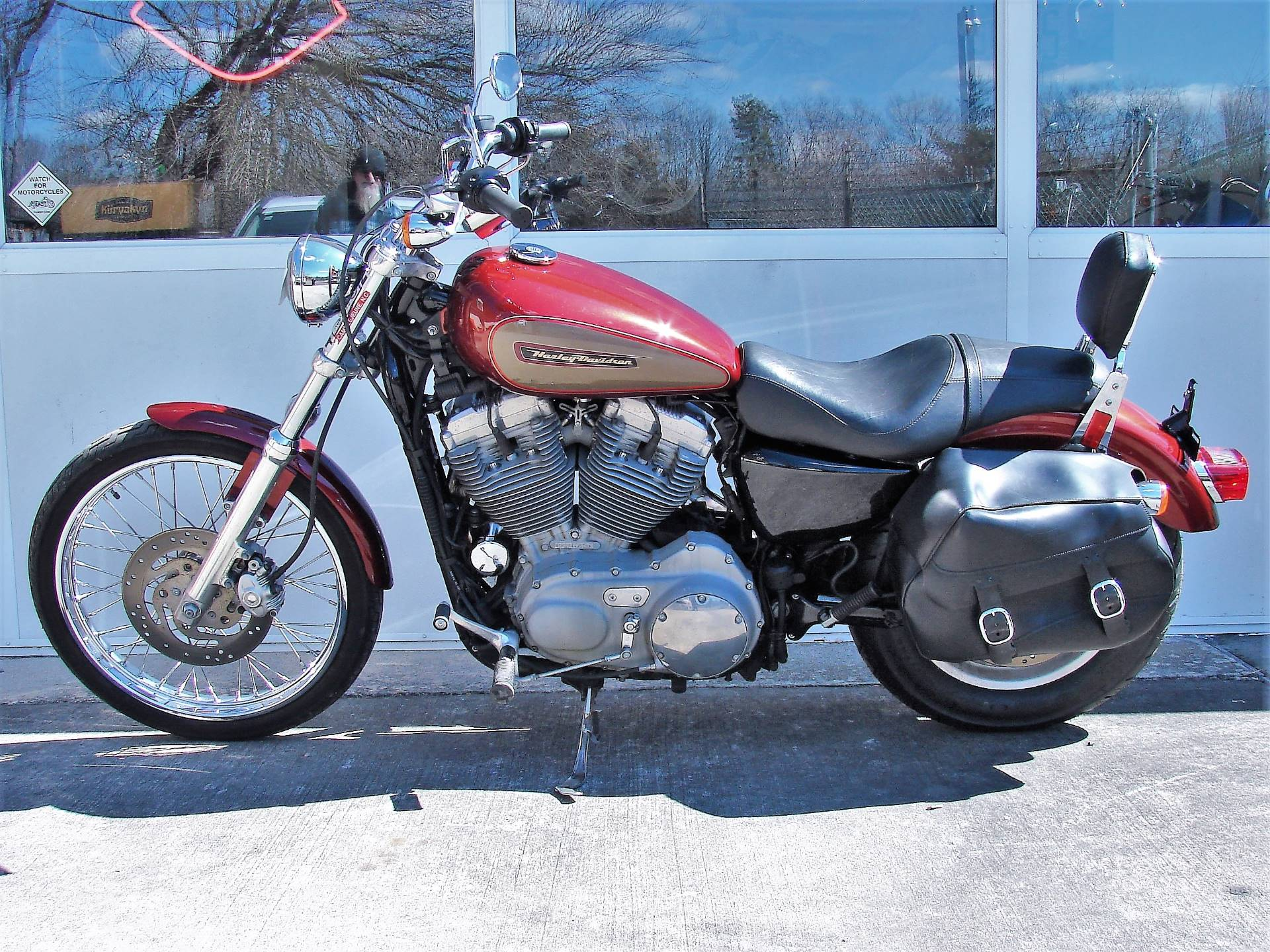 2009 Harley-Davidson XL 883 Sportster Custom in Williamstown, New Jersey - Photo 13