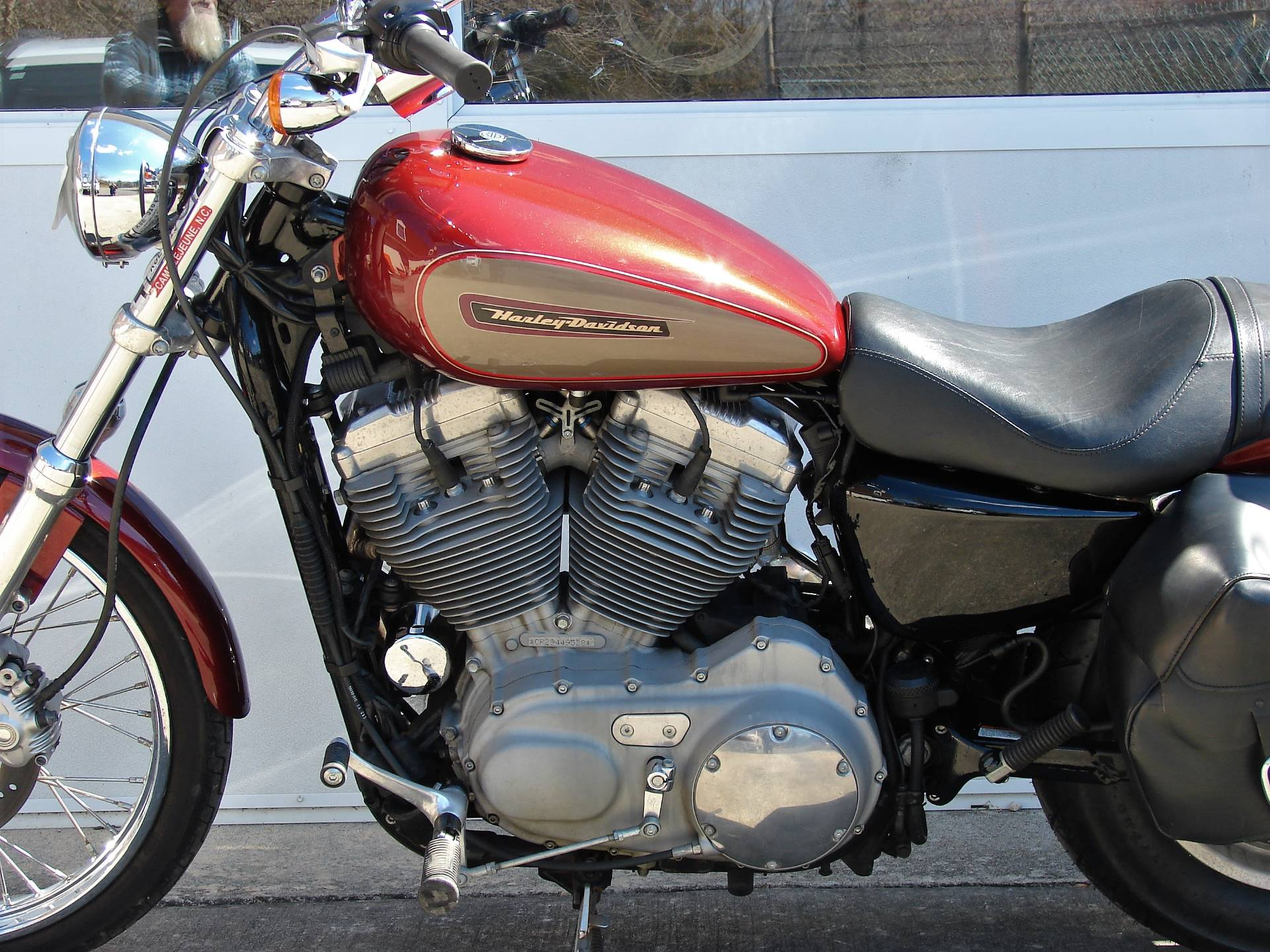 2009 Harley-Davidson XL 883 Sportster Custom in Williamstown, New Jersey - Photo 14