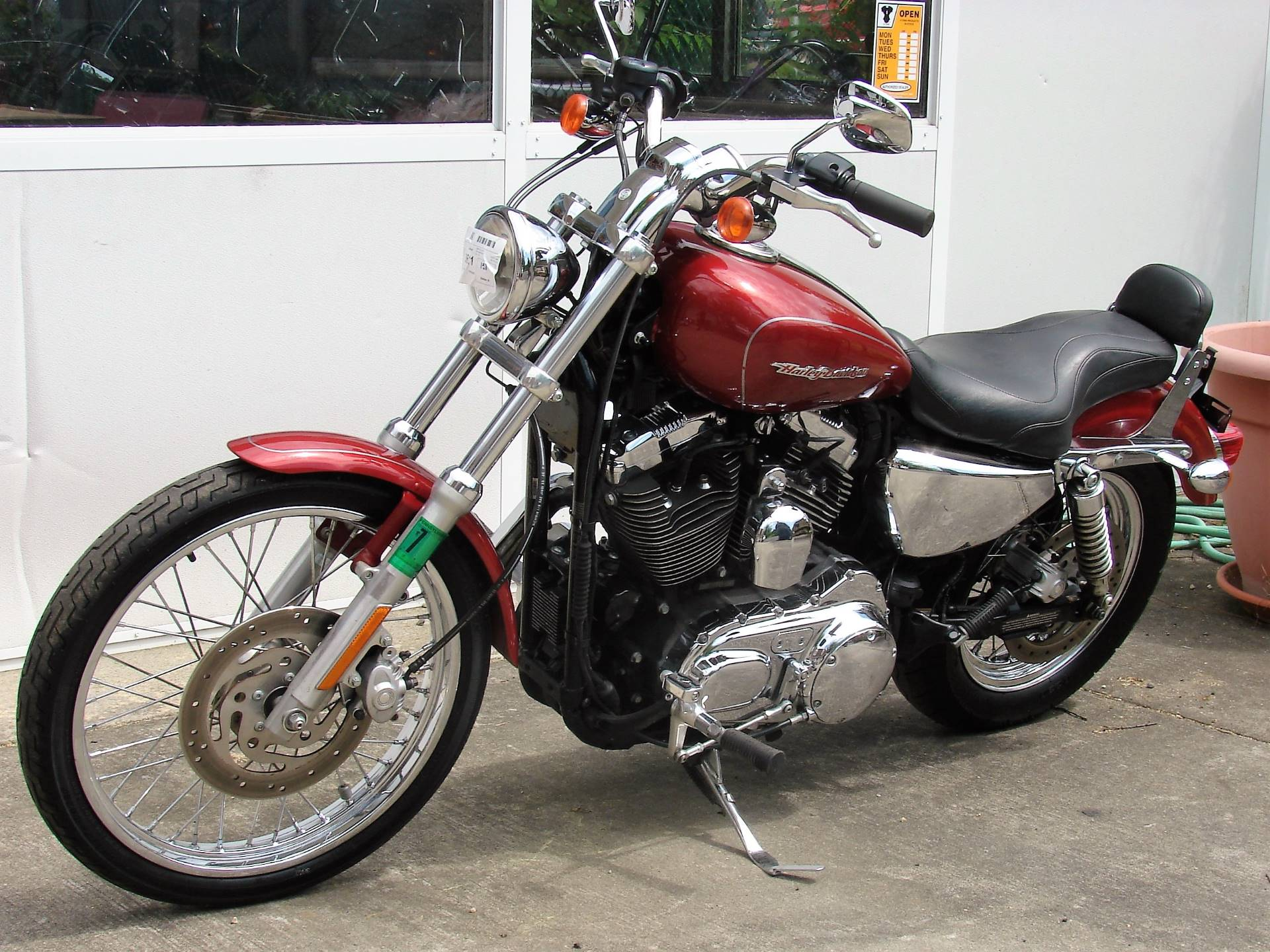 2006 Harley-Davidson XL 1200C Sportster Custom in Williamstown, New Jersey - Photo 8