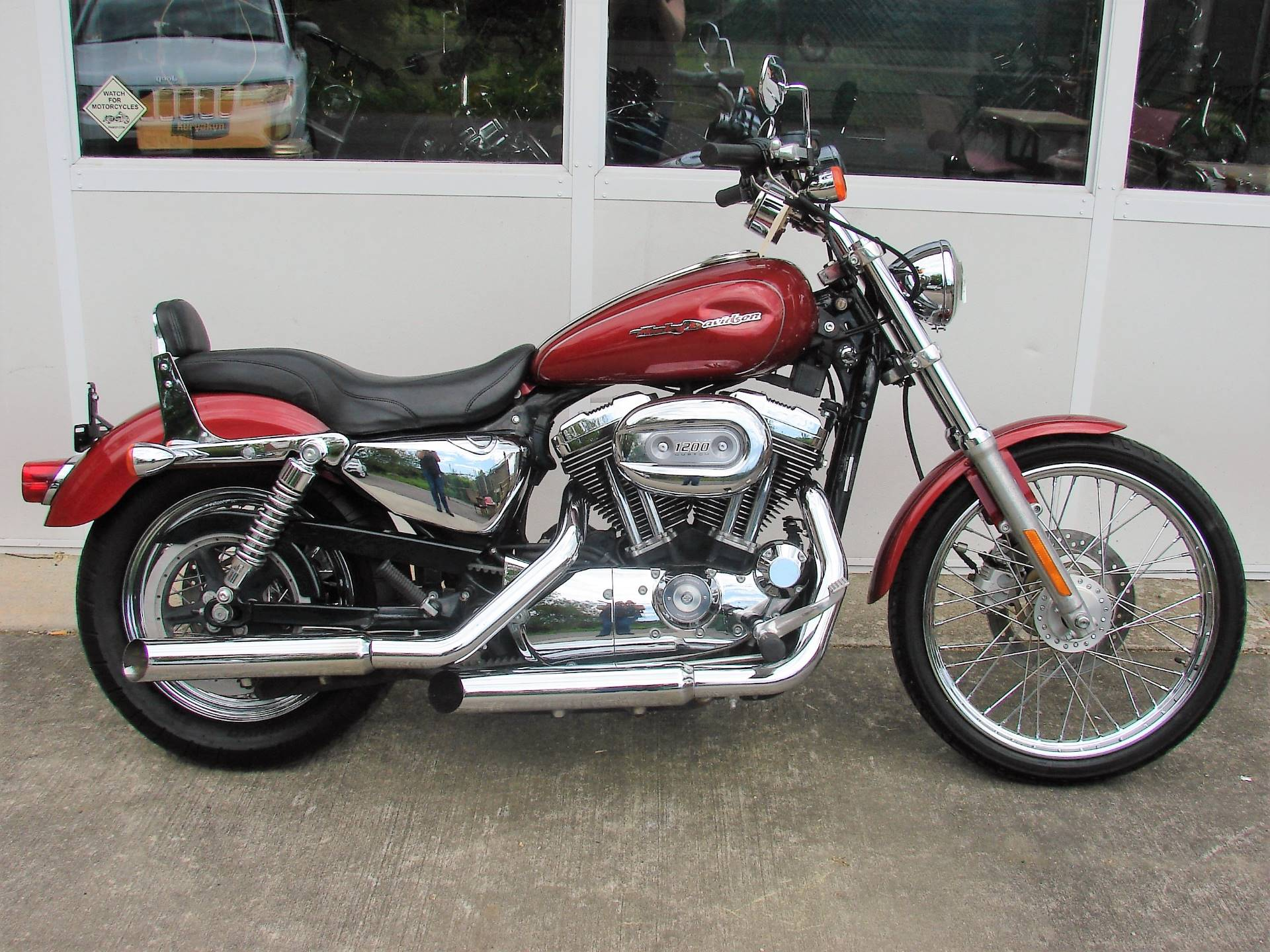 2006 Harley-Davidson XL 1200C Sportster Custom in Williamstown, New Jersey - Photo 9