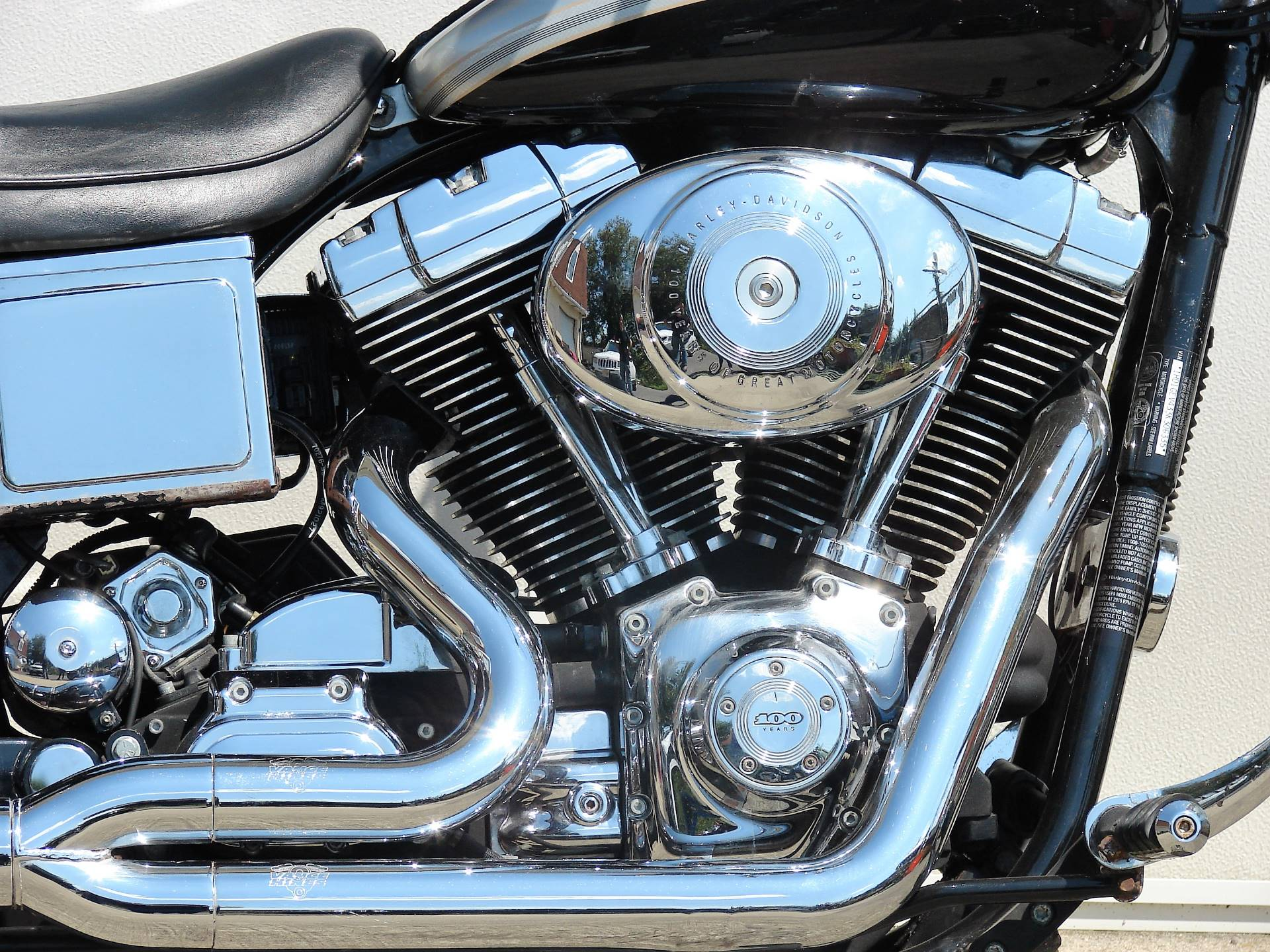 2003 Harley-Davidson FXDWG Dyna Wide Glide (Anniversary Edition) in Williamstown, New Jersey - Photo 12