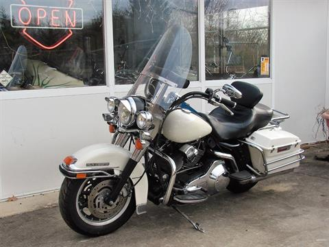 2001 Harley-Davidson FLHTPI Electra Glide (Police Special) - WHITE in Williamstown, New Jersey - Photo 8