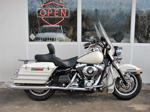 2001 Harley-Davidson FLHTPI Electra Glide (Police Special) - WHITE in Williamstown, New Jersey - Photo 9