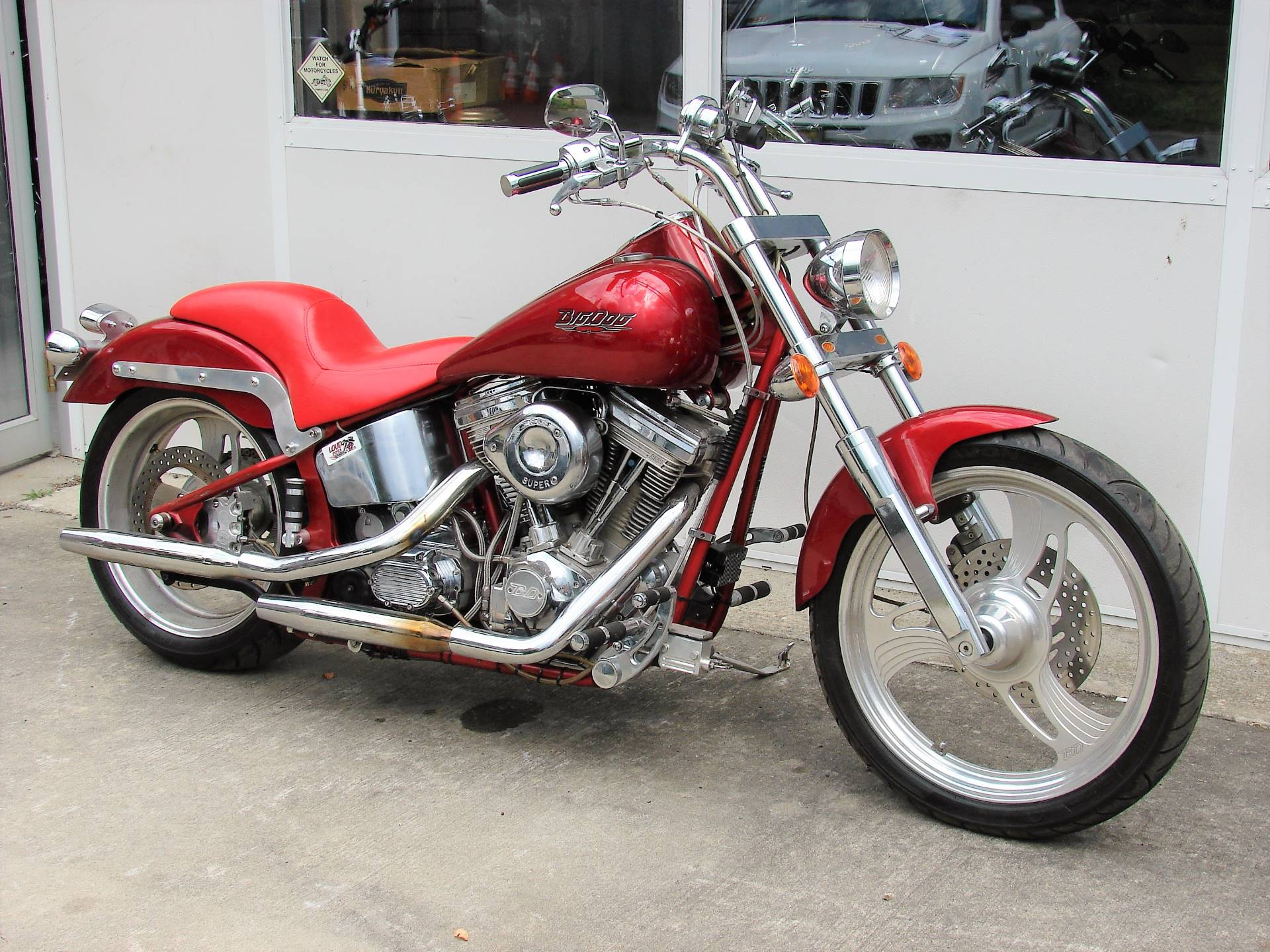2002 Big Dog Motorcycles Mastiff  -  (Red) in Williamstown, New Jersey