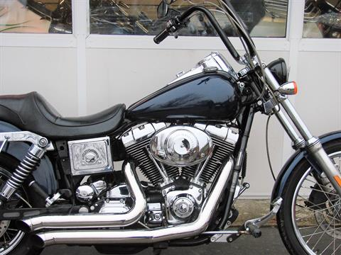 2005 Harley-Davidson FXDWG Dyna Wide Glide  (Navy Blue / Black) in Williamstown, New Jersey - Photo 2