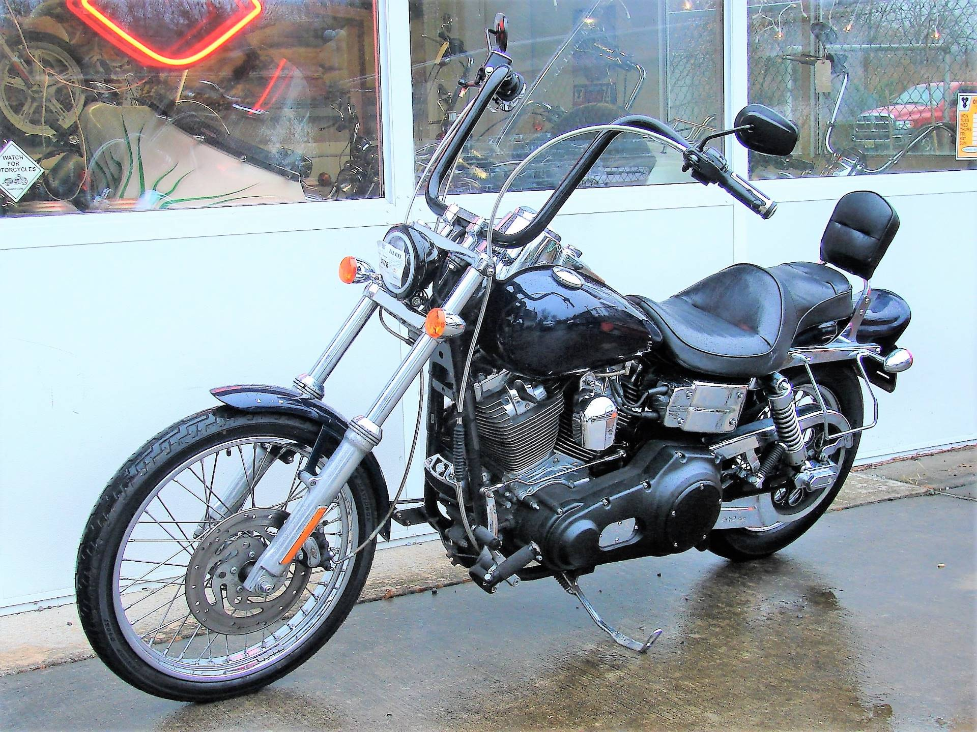 2005 Harley-Davidson FXDWG Dyna Wide Glide  (Navy Blue / Black) in Williamstown, New Jersey - Photo 7