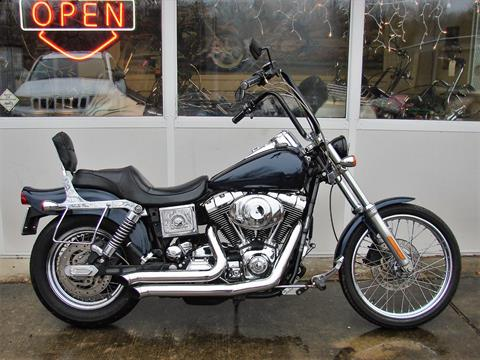 2005 Harley-Davidson FXDWG Dyna Wide Glide  (Navy Blue / Black) in Williamstown, New Jersey - Photo 9