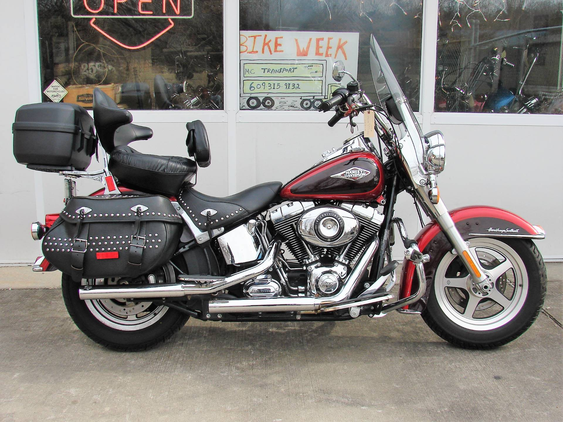 2012 Harley-Davidson Heritage Softail FLSTC in Williamstown, New Jersey - Photo 1