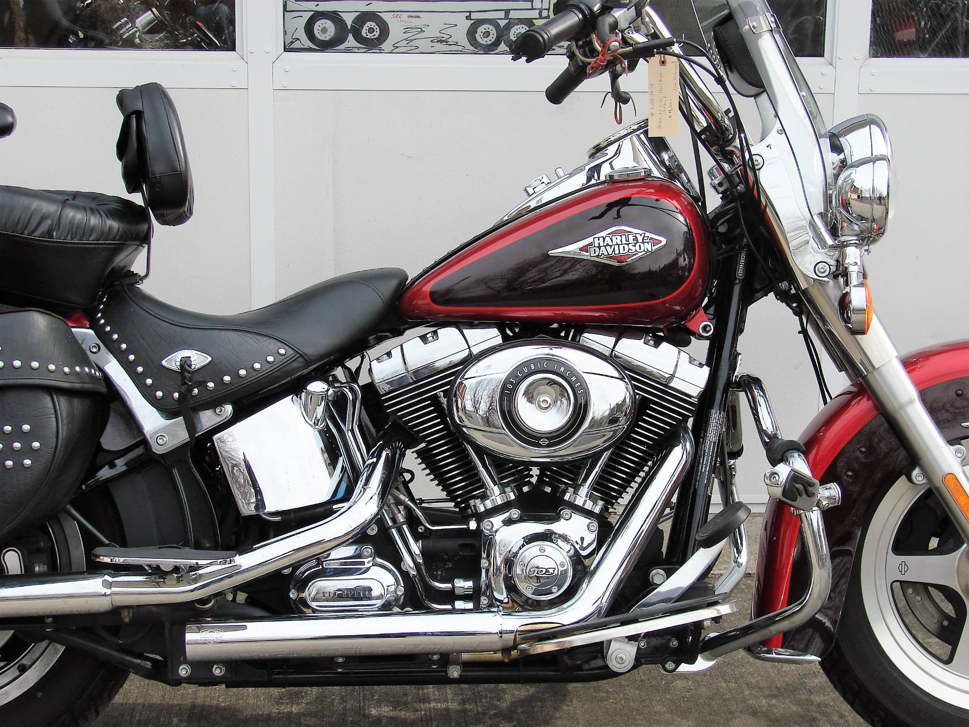 2012 Harley-Davidson Heritage Softail FLSTC in Williamstown, New Jersey - Photo 2