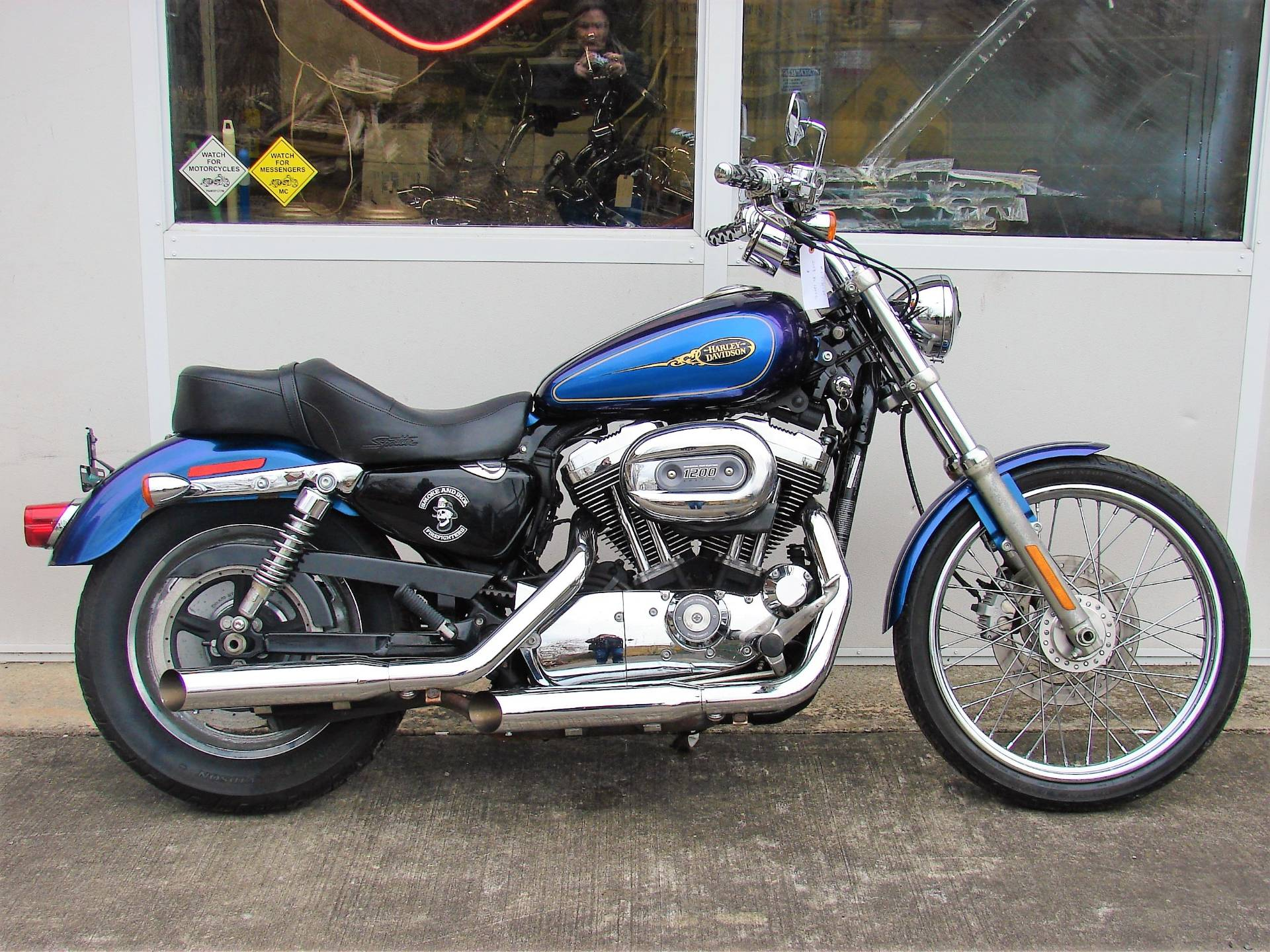 2009 Harley-Davidson XL 1200C Sportster in Williamstown, New Jersey - Photo 1