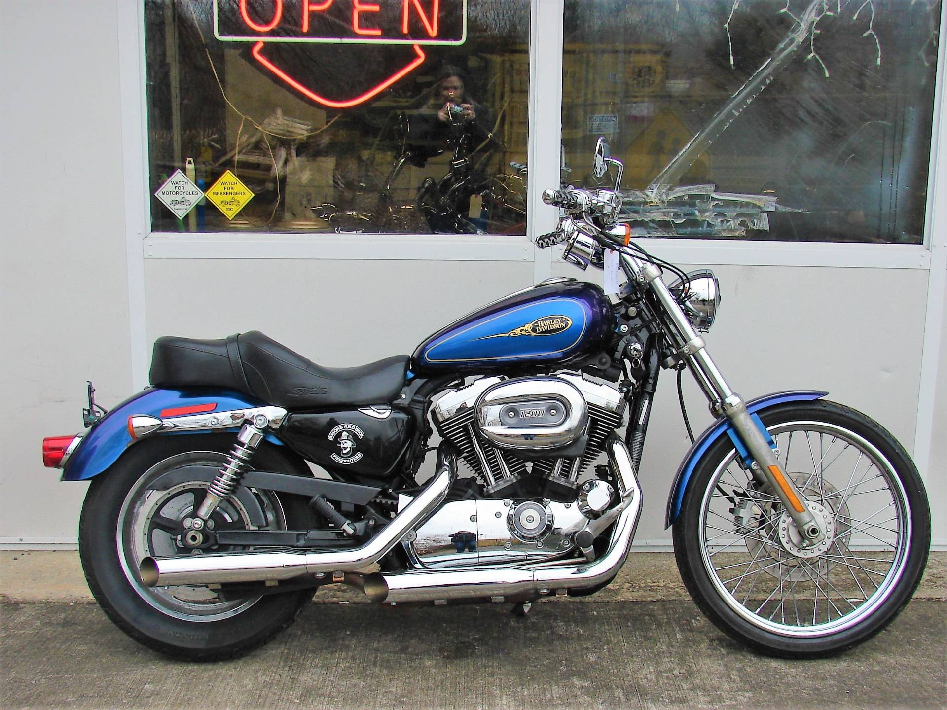 2009 Harley-Davidson XL 1200C Sportster in Williamstown, New Jersey - Photo 2