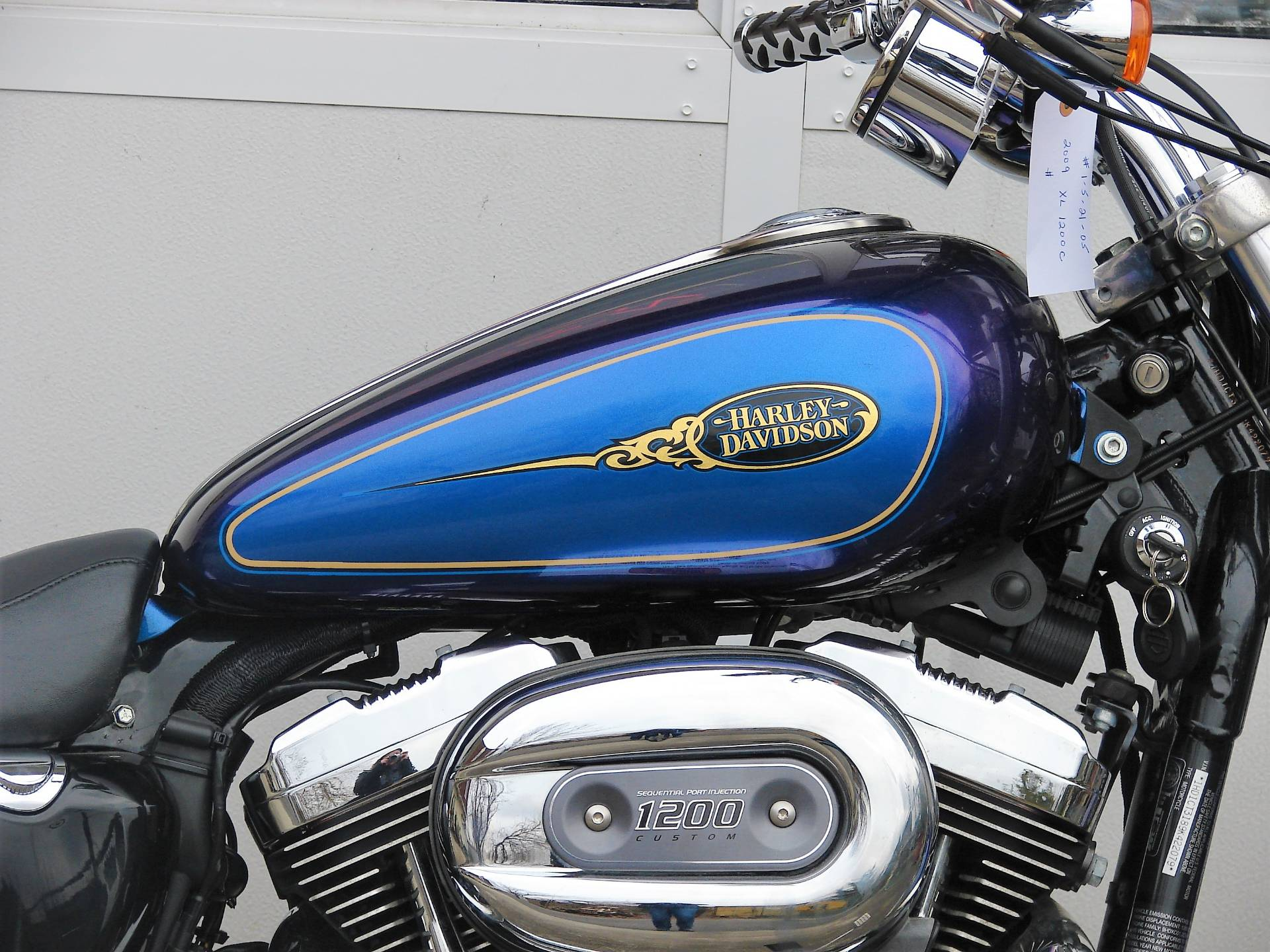 2009 Harley-Davidson XL 1200C Sportster in Williamstown, New Jersey - Photo 4