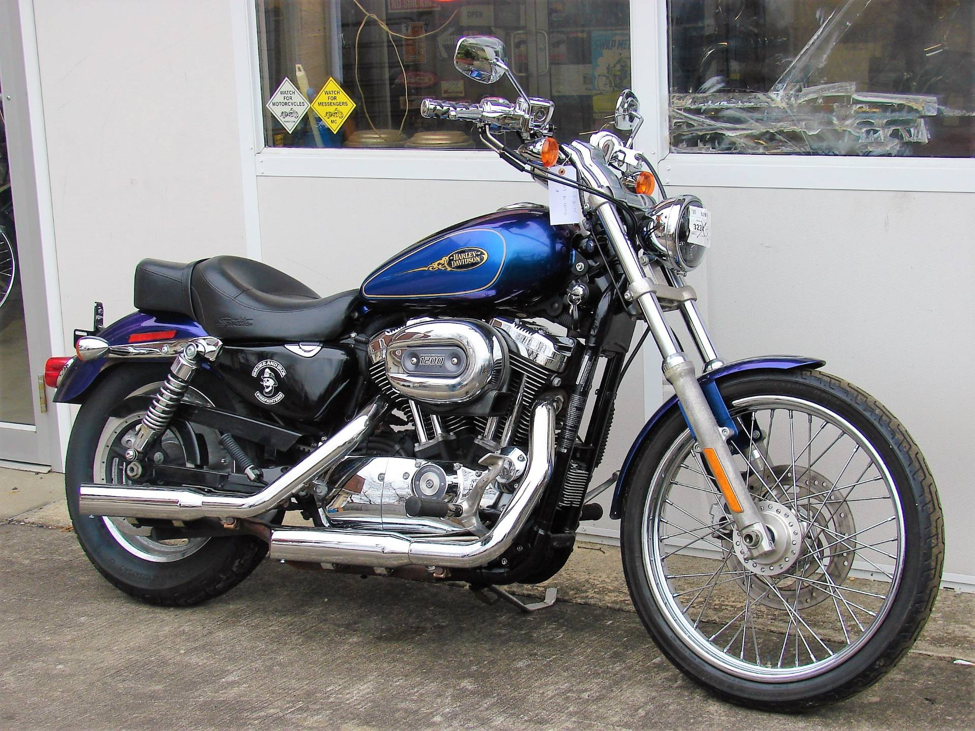 2009 Harley-Davidson XL 1200C Sportster in Williamstown, New Jersey - Photo 5
