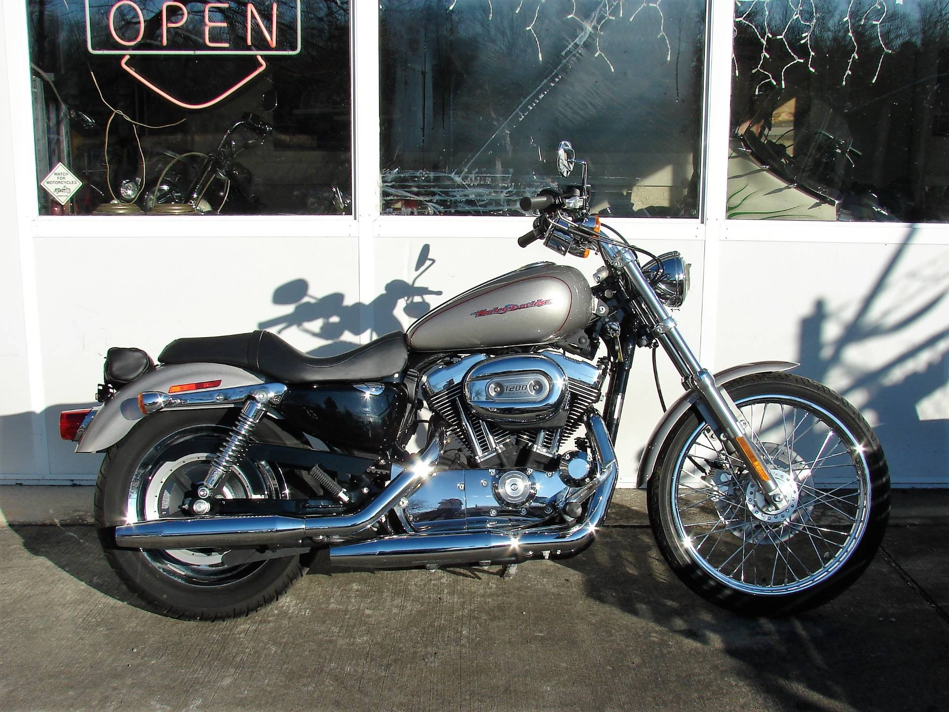 2007 Harley-Davidson XL 1200 Sportster Custom in Williamstown, New Jersey - Photo 1