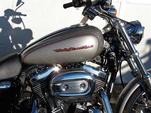 2007 Harley-Davidson XL 1200 Sportster Custom in Williamstown, New Jersey - Photo 5