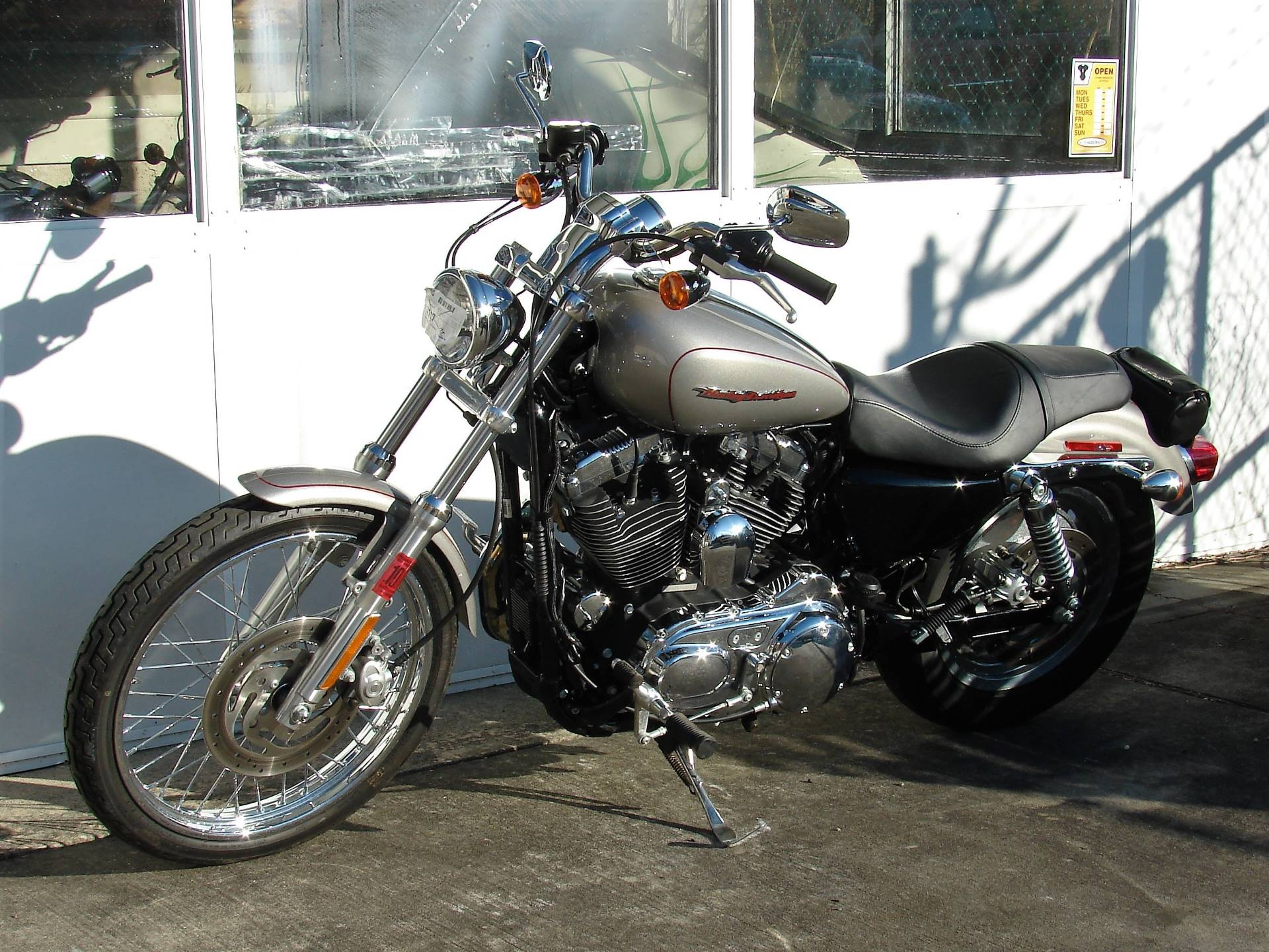 2007 Harley-Davidson XL 1200 Sportster Custom in Williamstown, New Jersey - Photo 9
