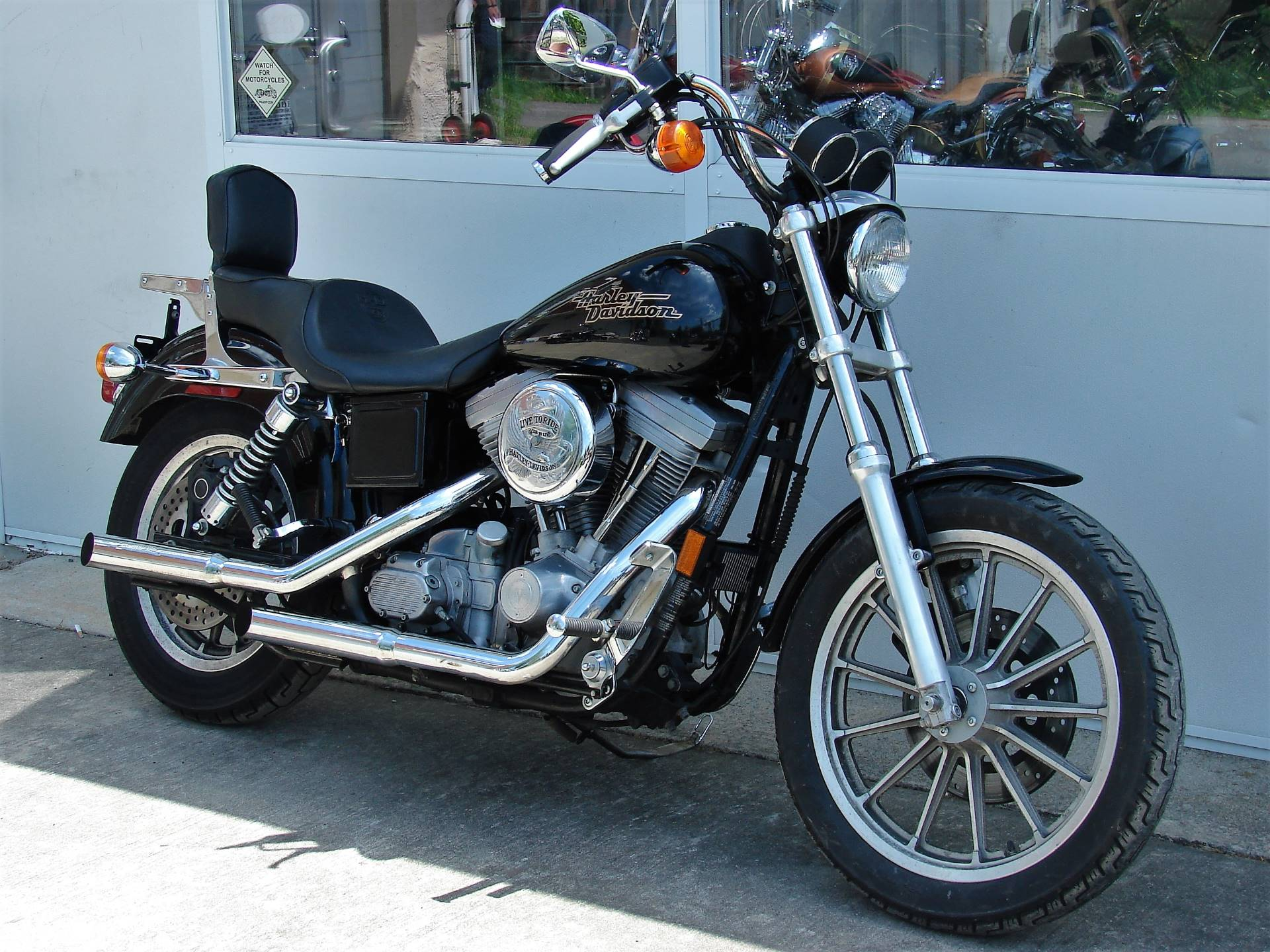 1998 Harley-Davidson Dyna Super Glide  (Black)  w/ Low Miles! in Williamstown, New Jersey - Photo 4