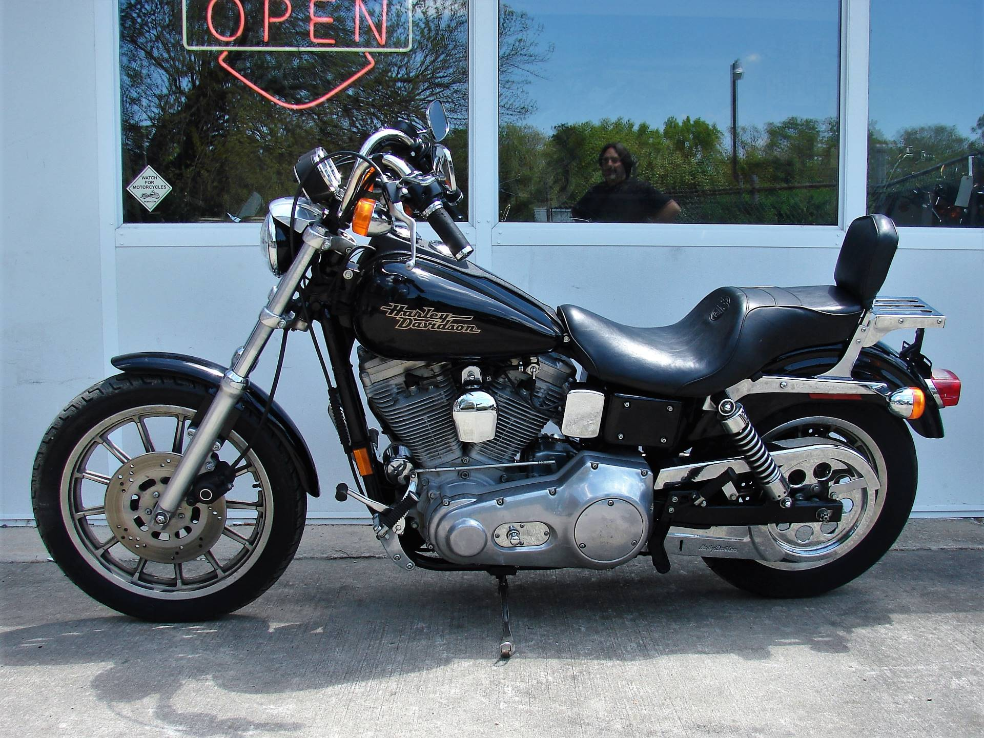 1998 Harley-Davidson Dyna Super Glide  (Black)  w/ Low Miles! in Williamstown, New Jersey - Photo 6