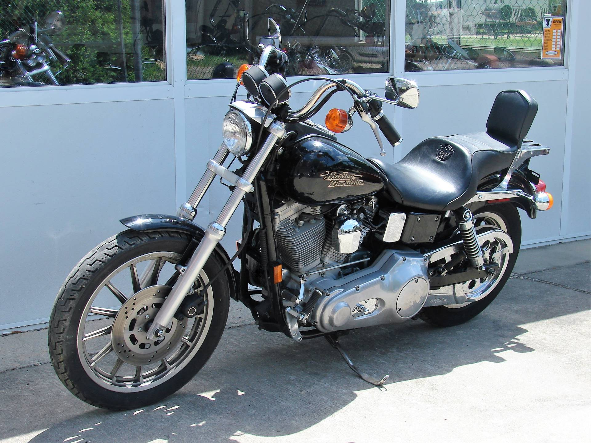 1998 Harley-Davidson Dyna Super Glide  (Black)  w/ Low Miles! in Williamstown, New Jersey