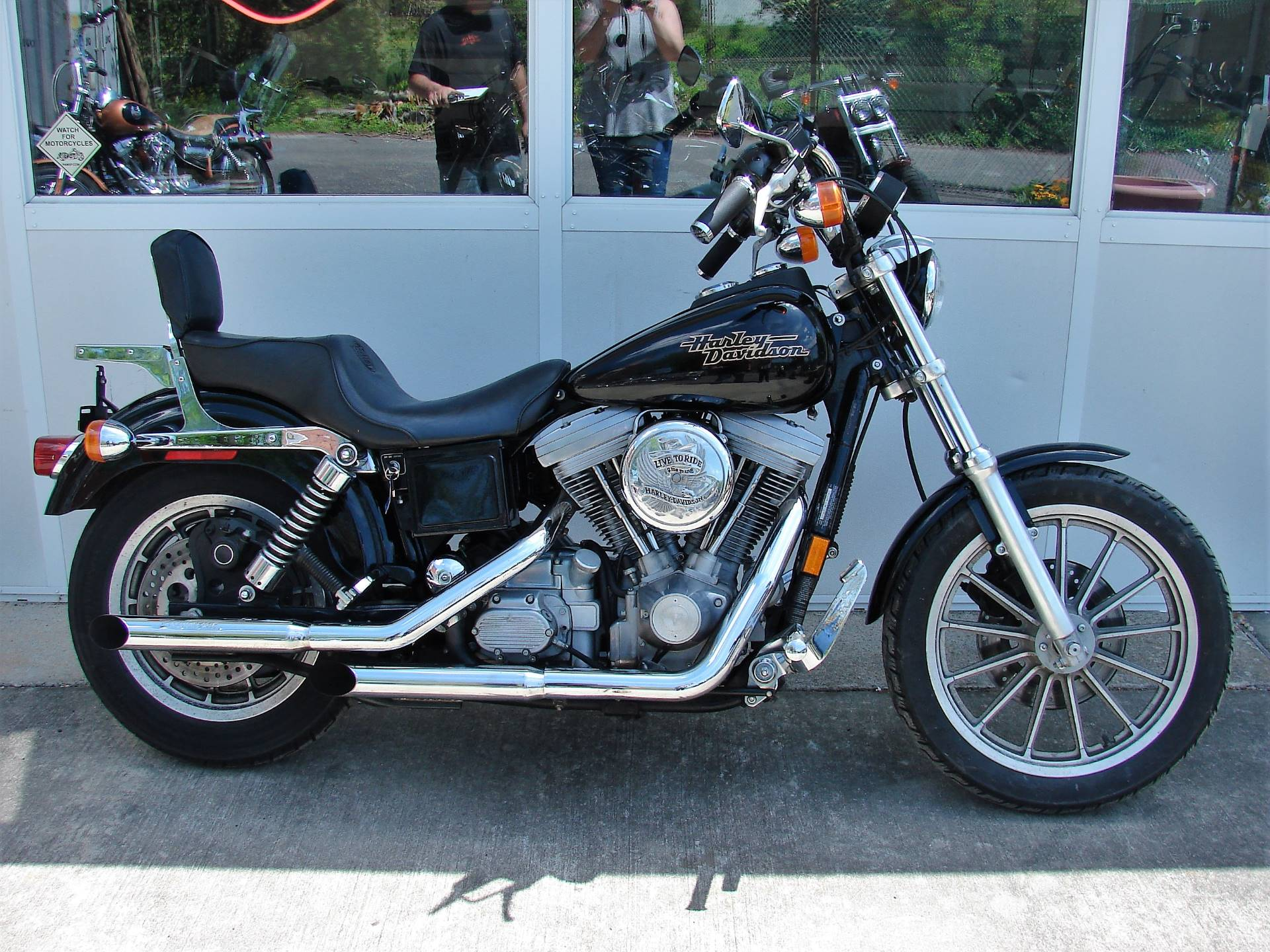 1998 Harley-Davidson Dyna Super Glide  (Black)  w/ Low Miles! in Williamstown, New Jersey - Photo 10