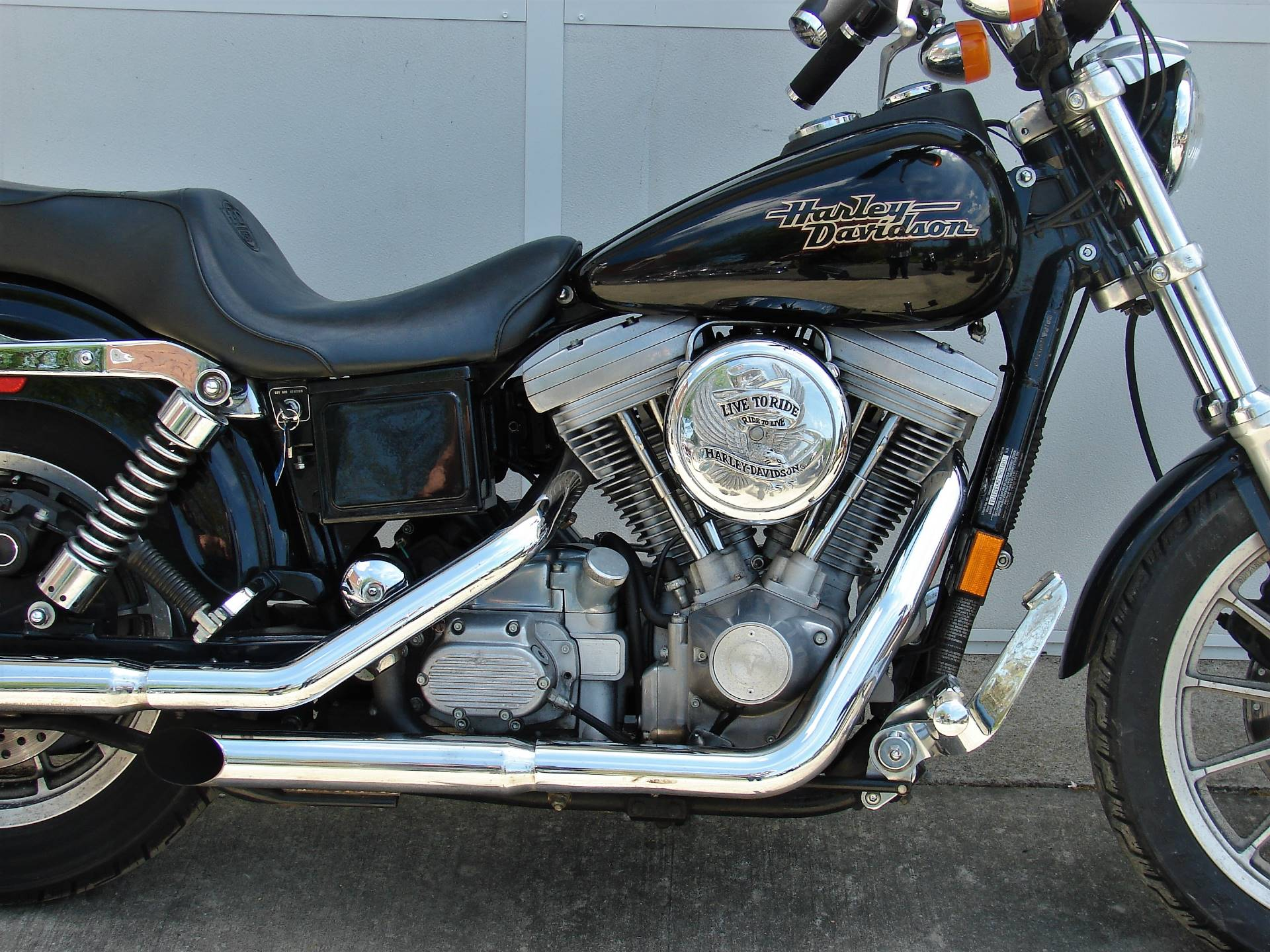 1998 Harley-Davidson Dyna Super Glide  (Black)  w/ Low Miles! in Williamstown, New Jersey - Photo 11
