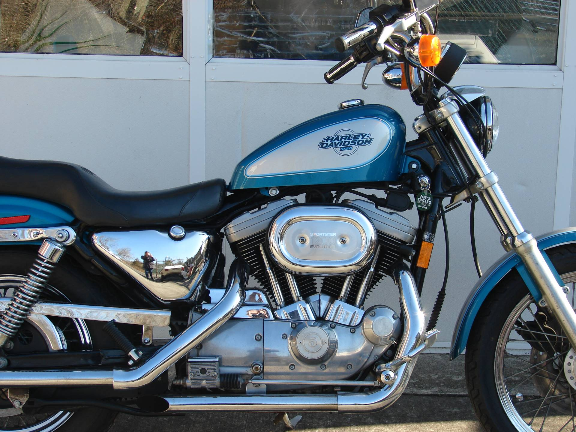 1995 Harley-Davidson 1200 Sportster  (Teal Blue and Silver) in Williamstown, New Jersey - Photo 2