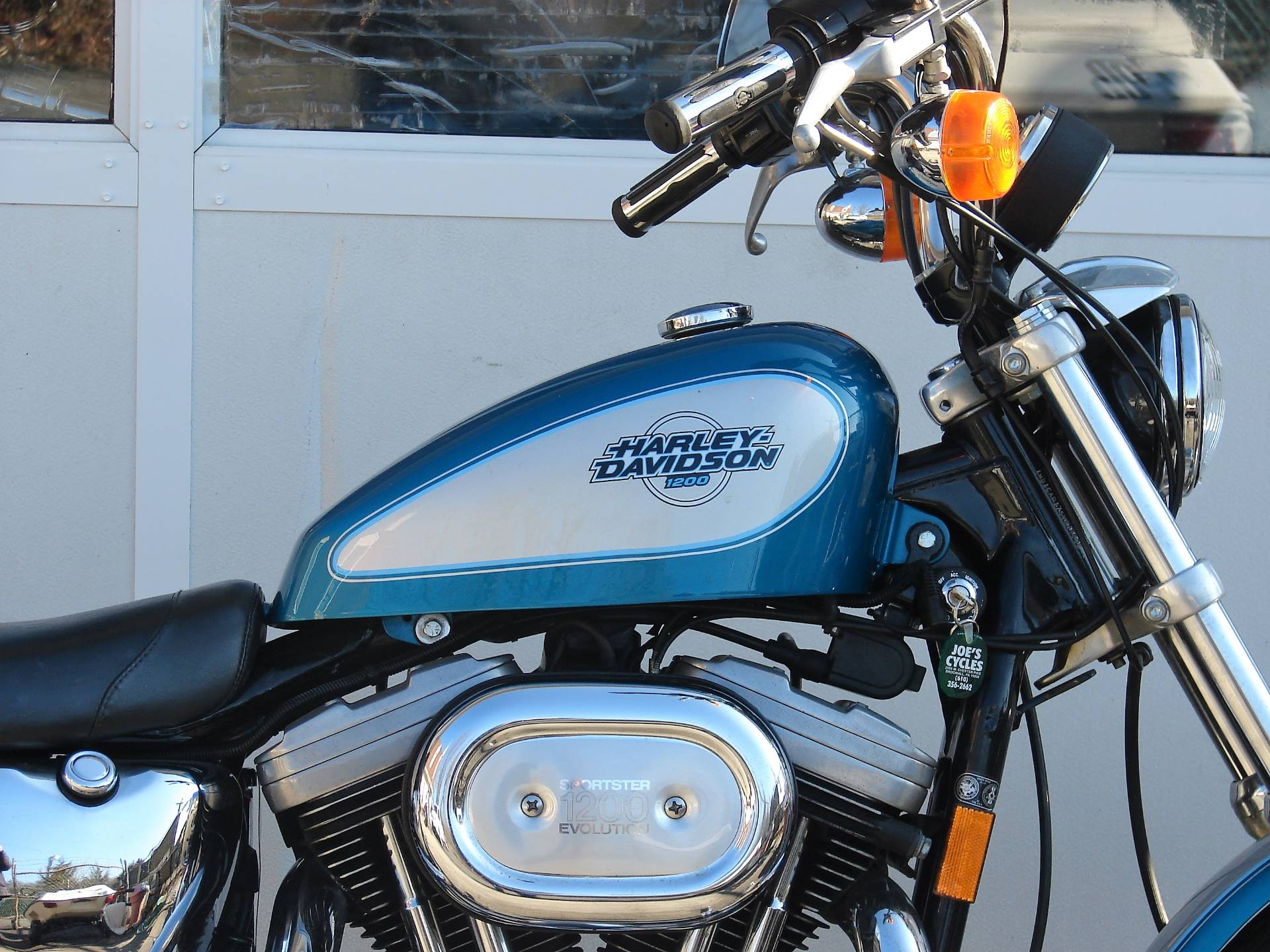 1995 Harley-Davidson 1200 Sportster  (Teal Blue and Silver) in Williamstown, New Jersey - Photo 3
