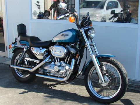 1995 Harley-Davidson 1200 Sportster  (Teal Blue and Silver) in Williamstown, New Jersey - Photo 4