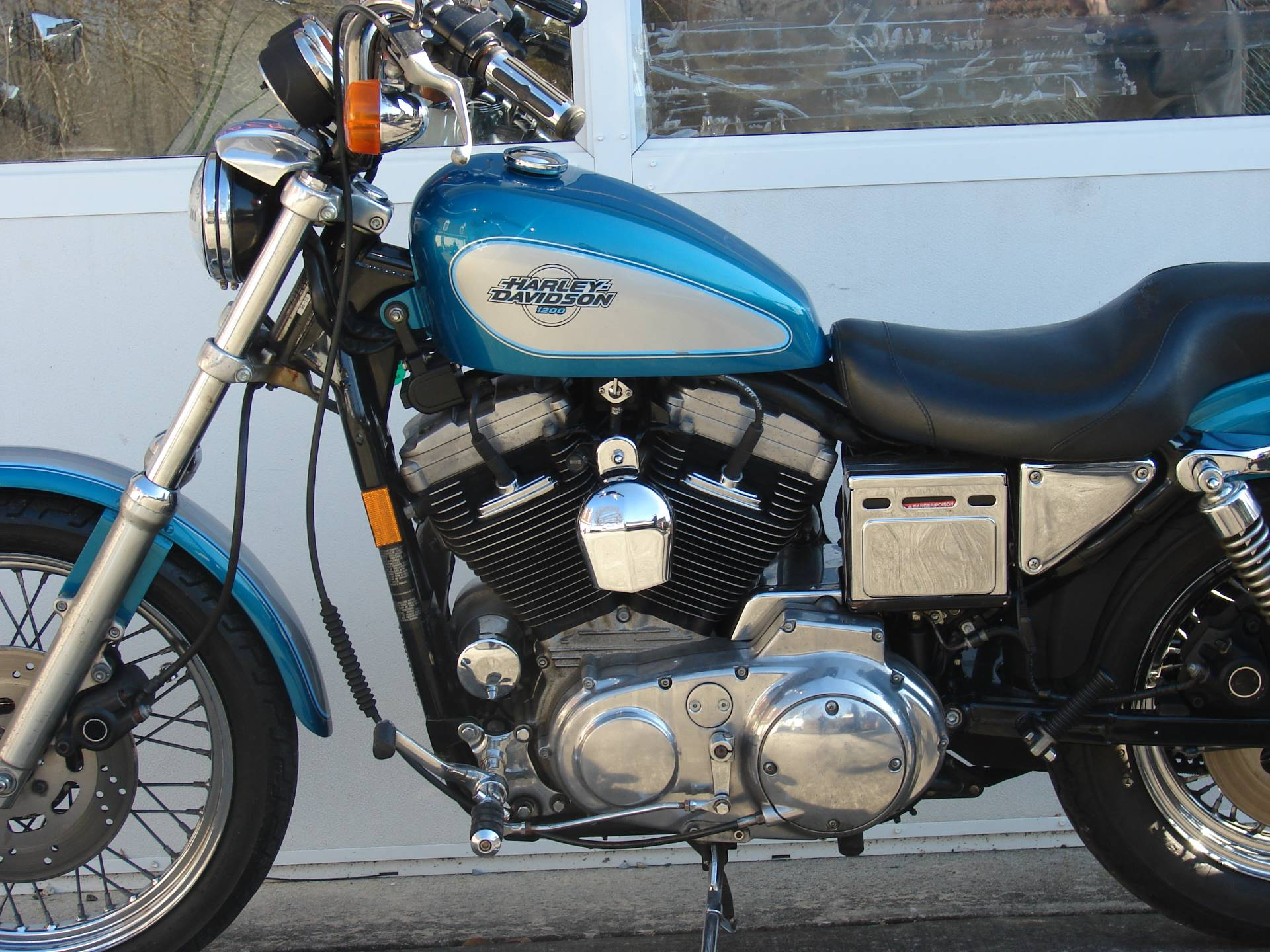 1995 Harley-Davidson 1200 Sportster  (Teal Blue and Silver) in Williamstown, New Jersey - Photo 6